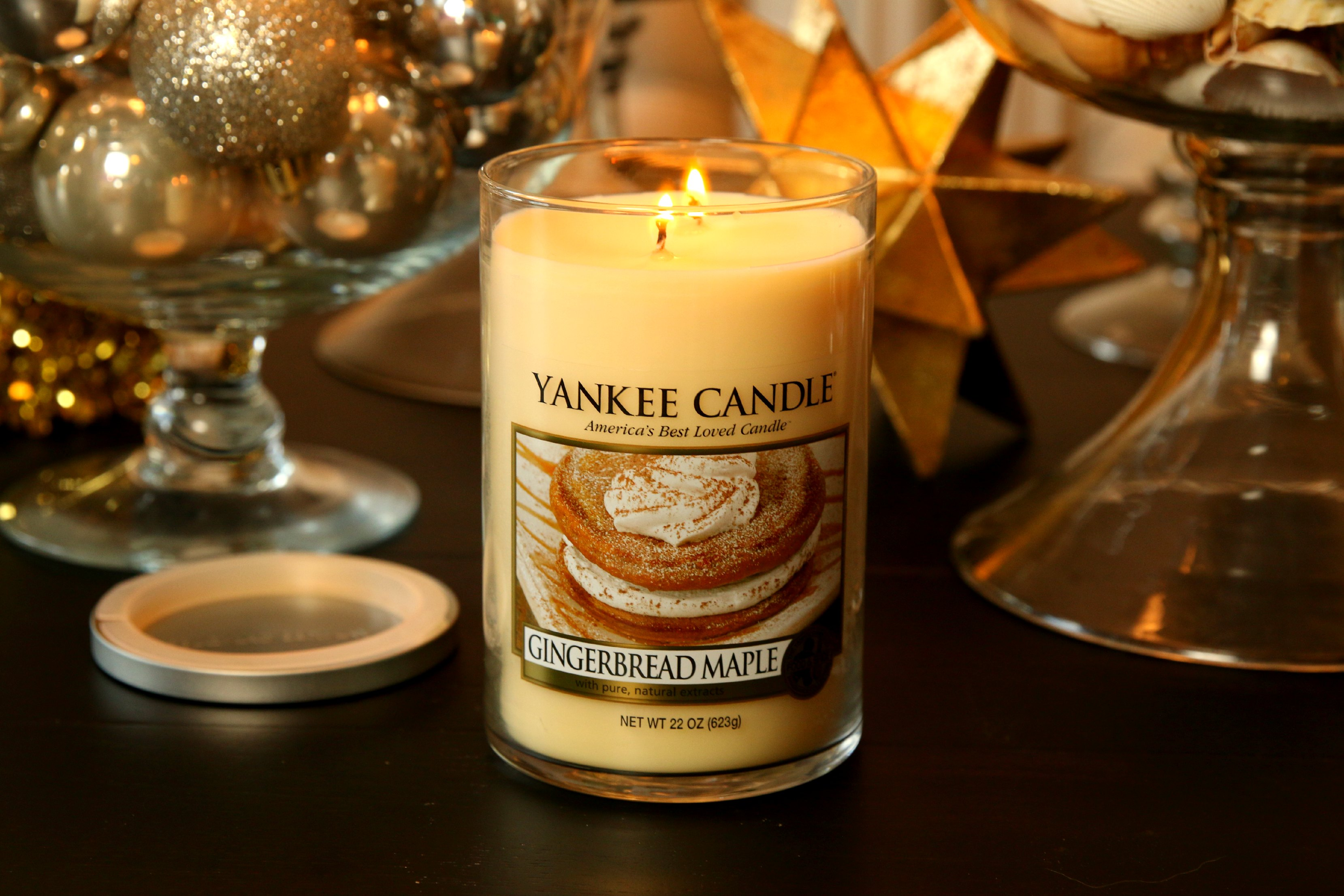 yankee candle gingerbread maple holiday