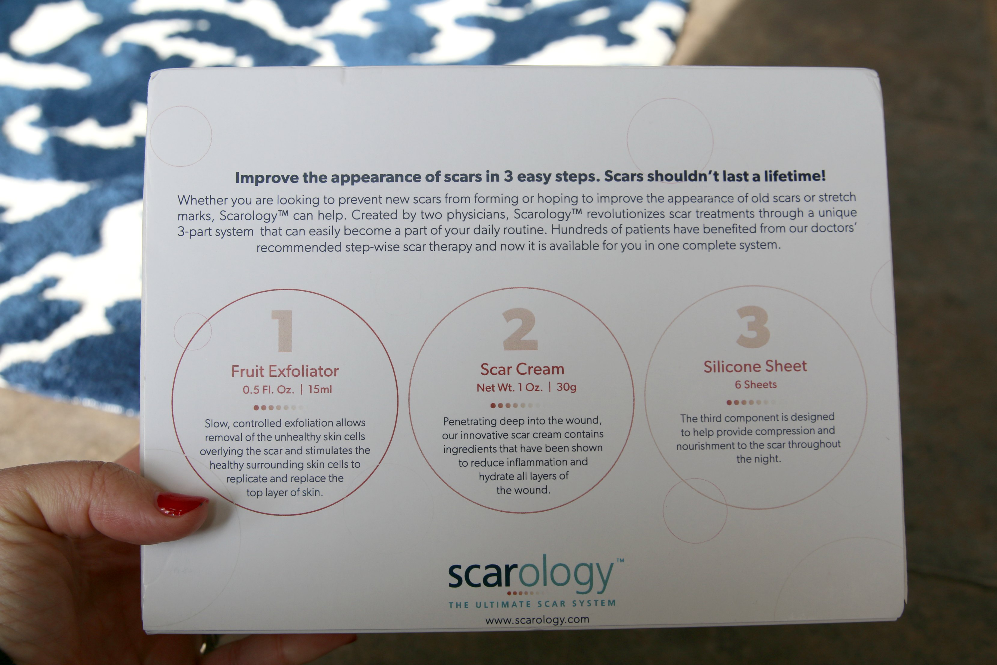 at home scar removal