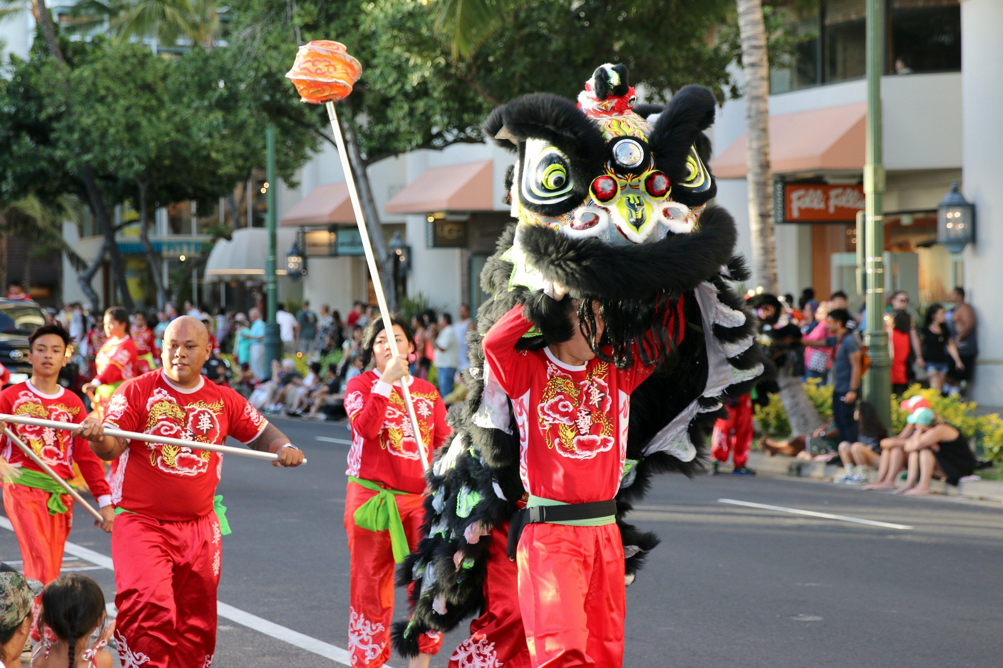 Waikiki parade
