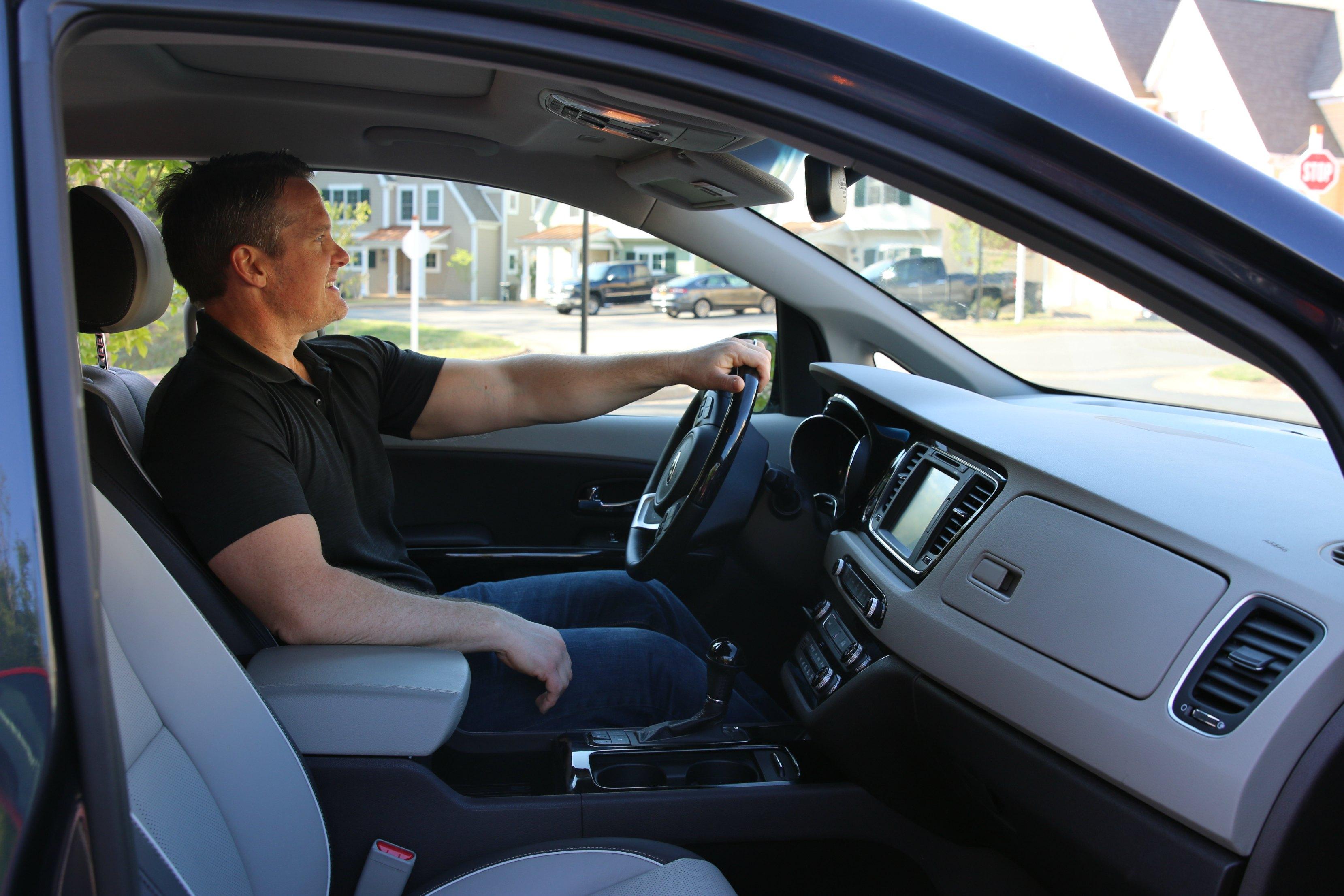 driver experience kia sedona