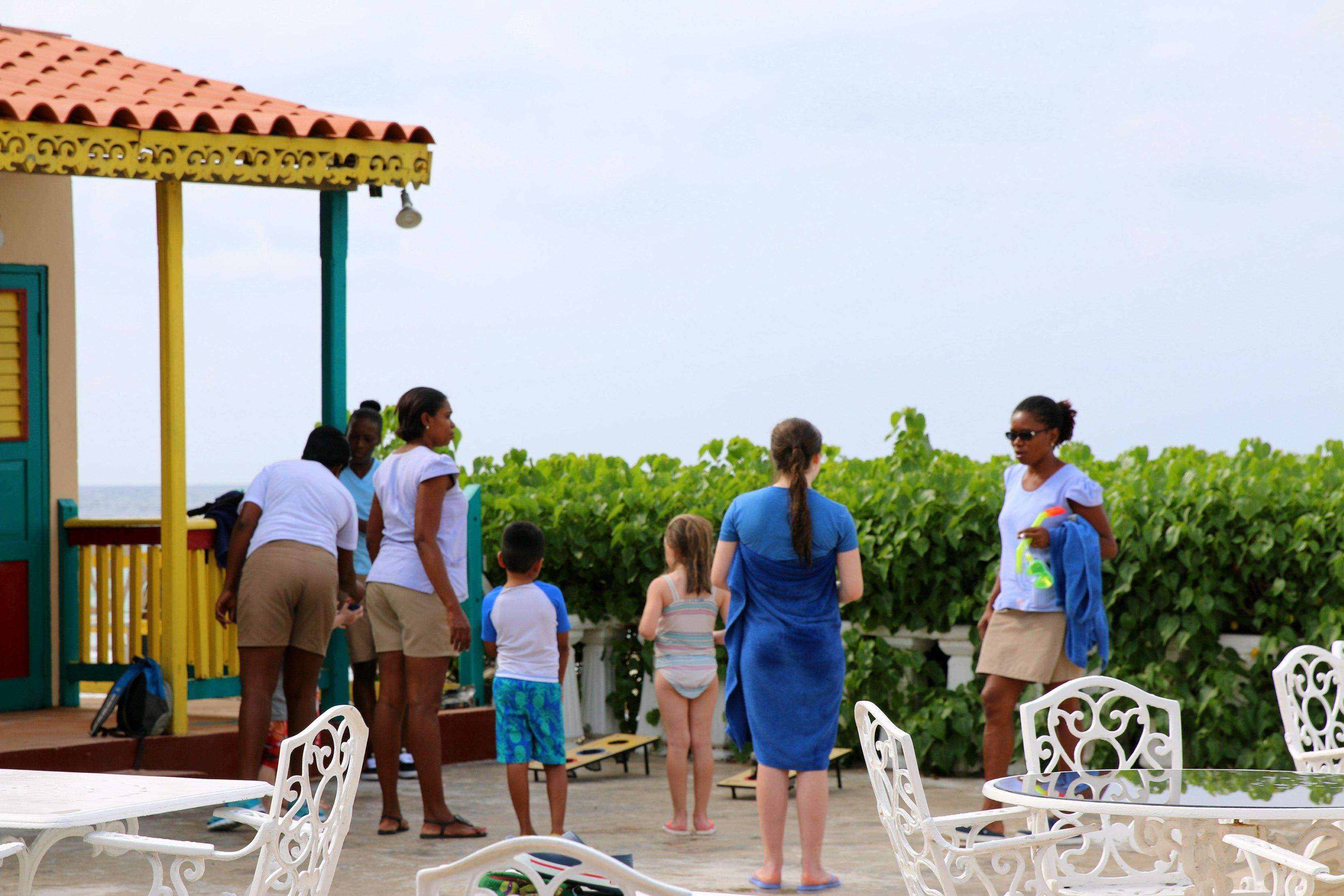 franklyn d resort jamaica nannies