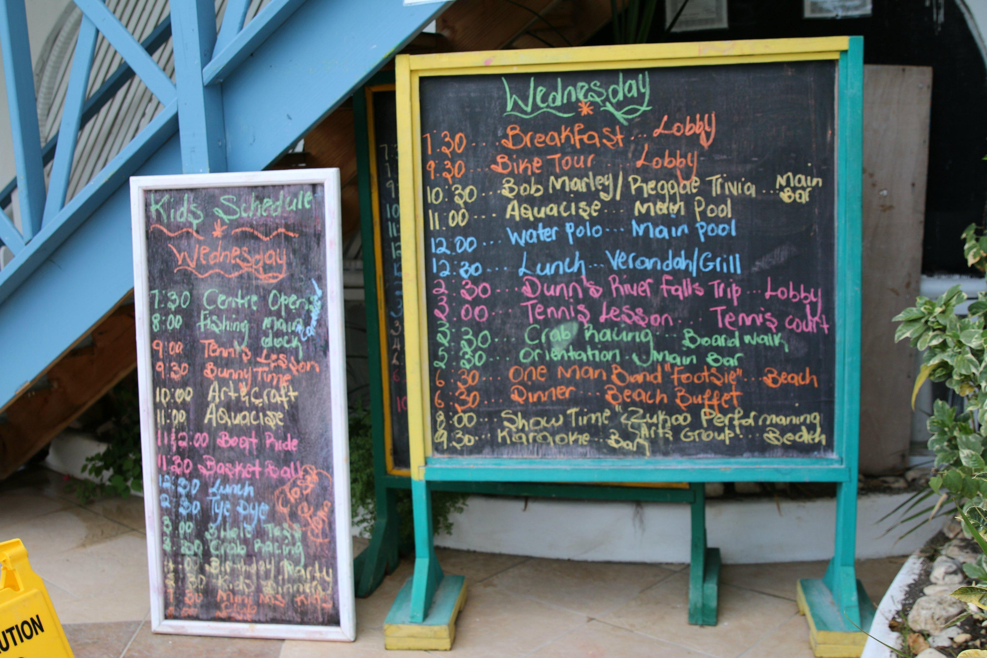 franklyn d resort kids activities list