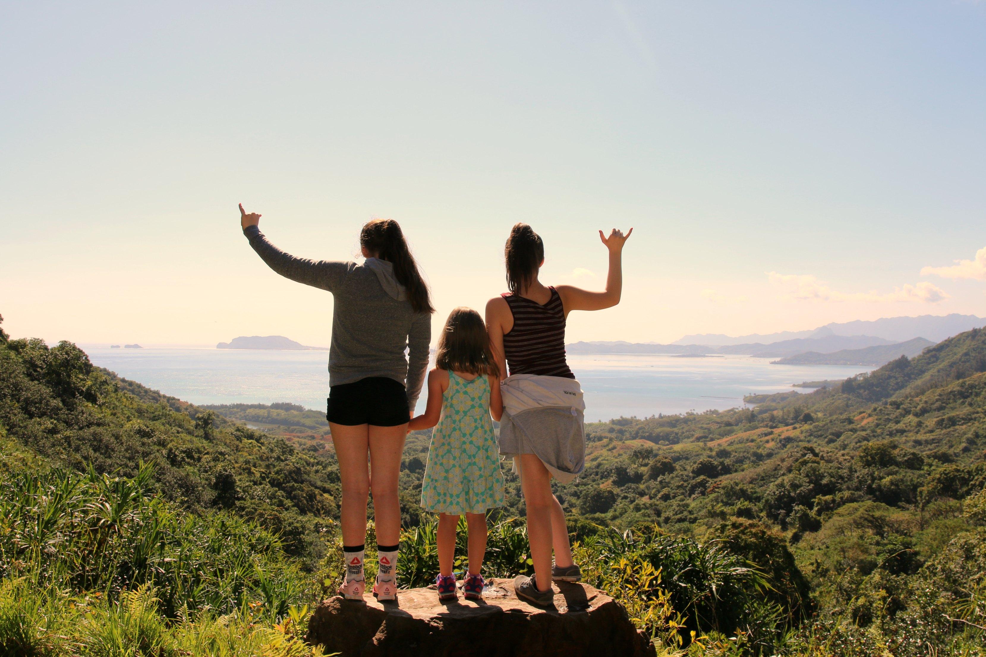mountain hiking with kids hawaii