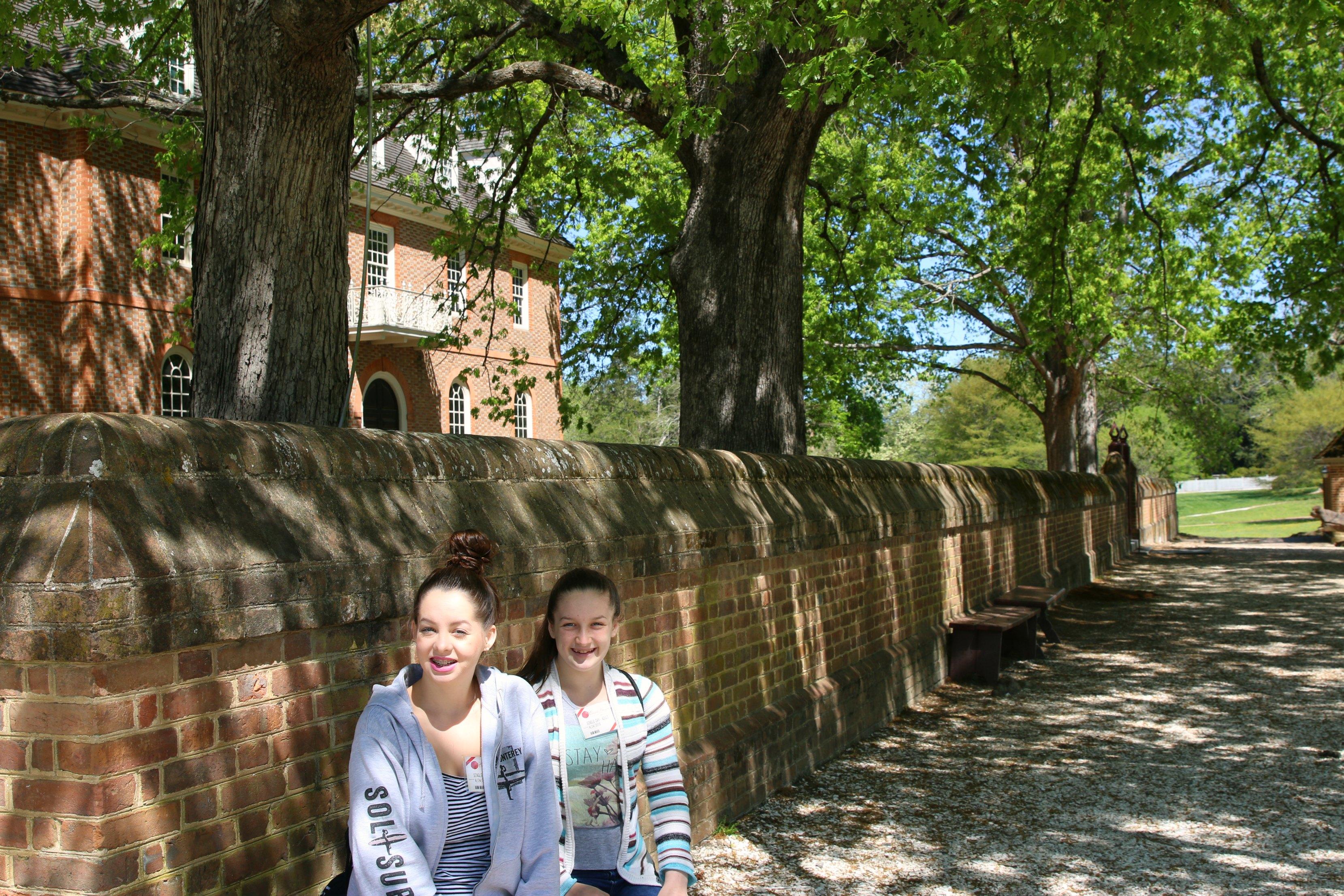 teens at williamsburg virginia