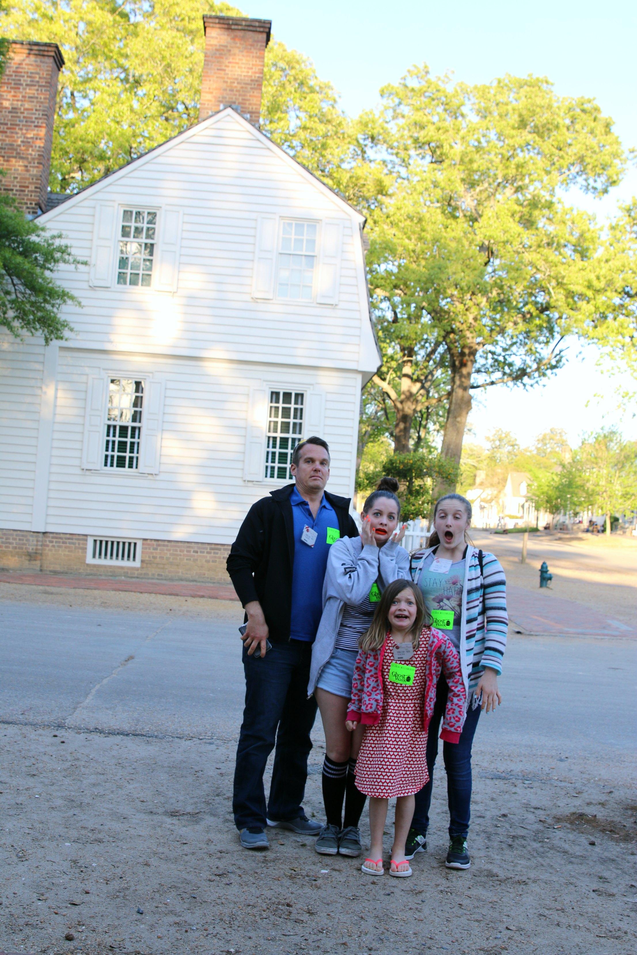 williamsburg ghost tour
