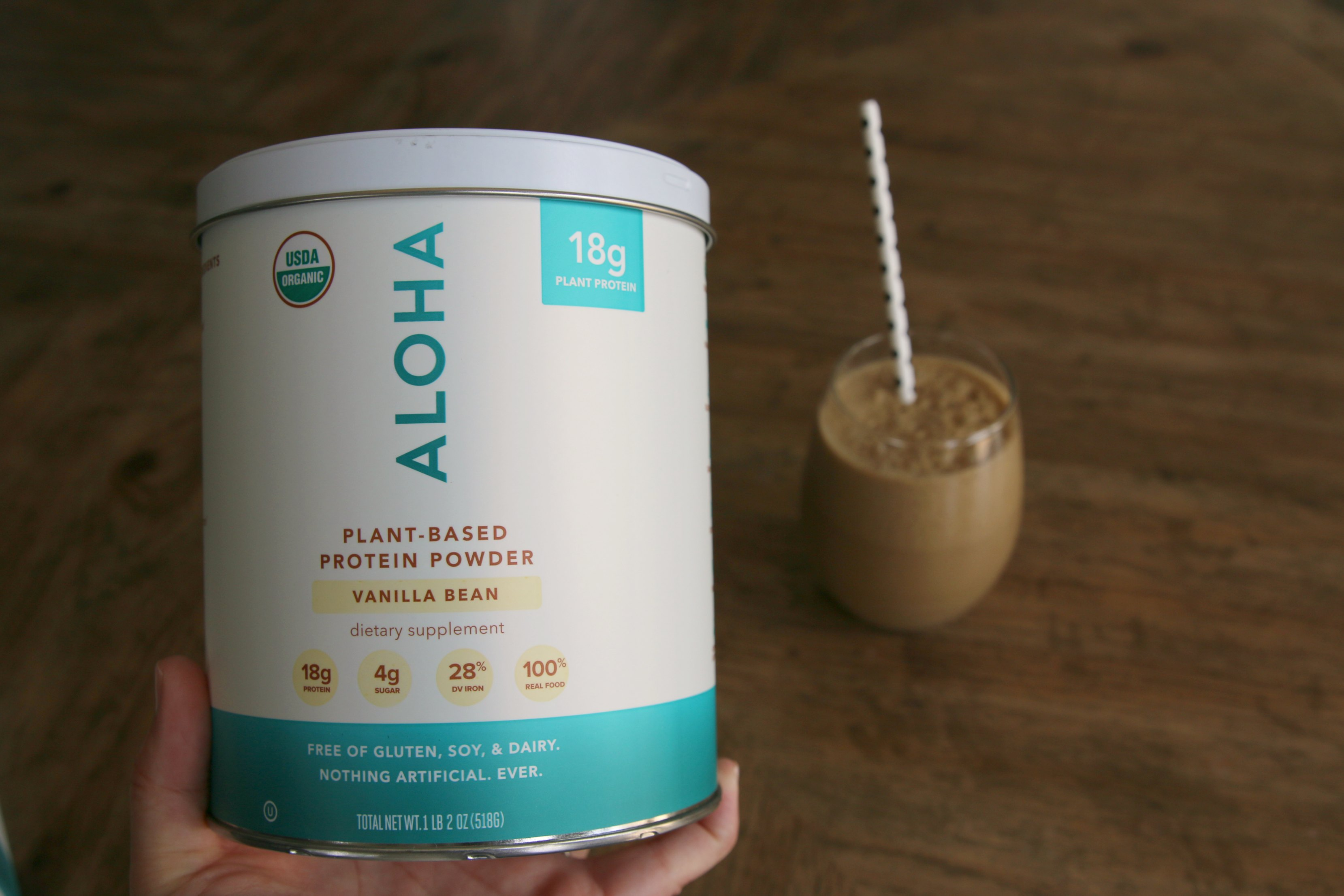 Aloha plant based protein