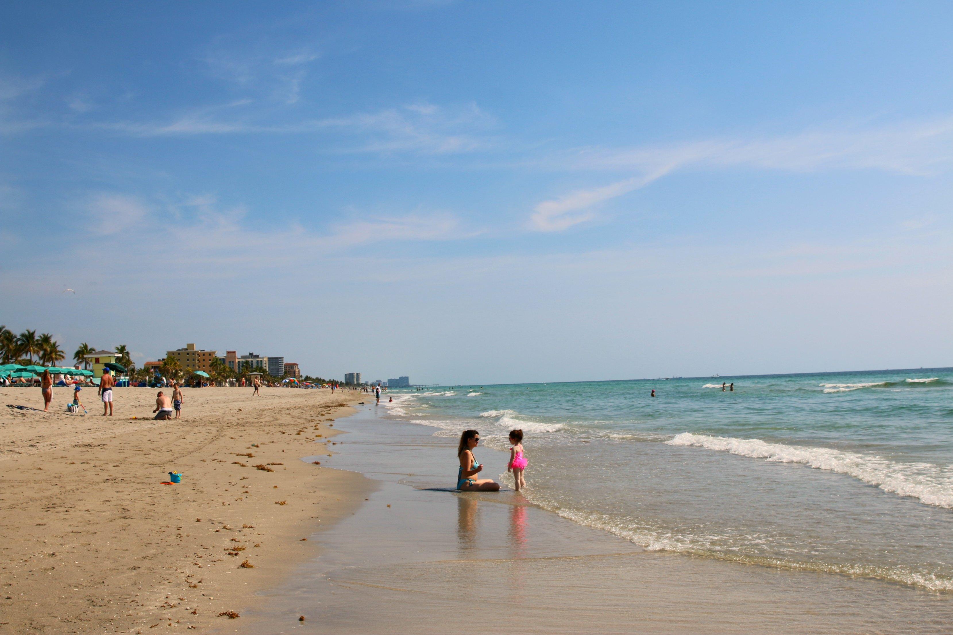 Margaritaville Hollywood Beach Resort beach