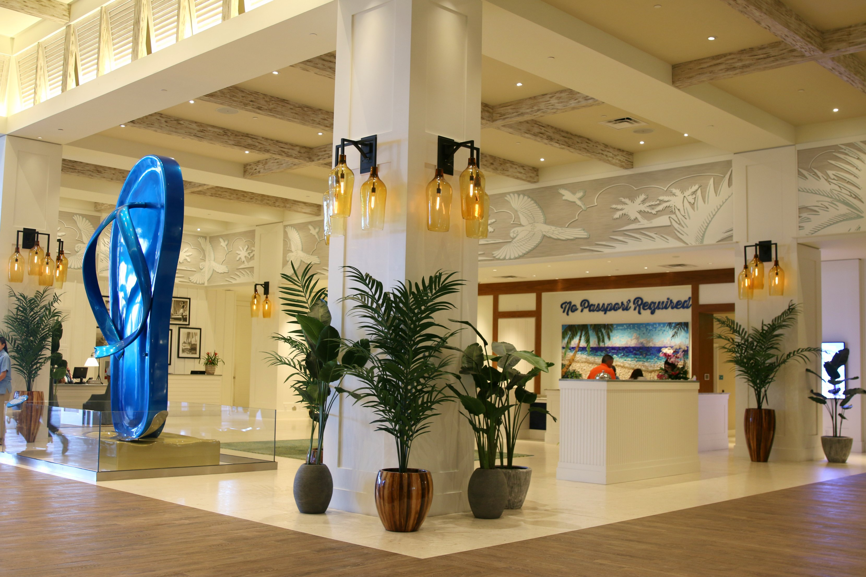 Margaritaville Hollywood Beach Resort lobby