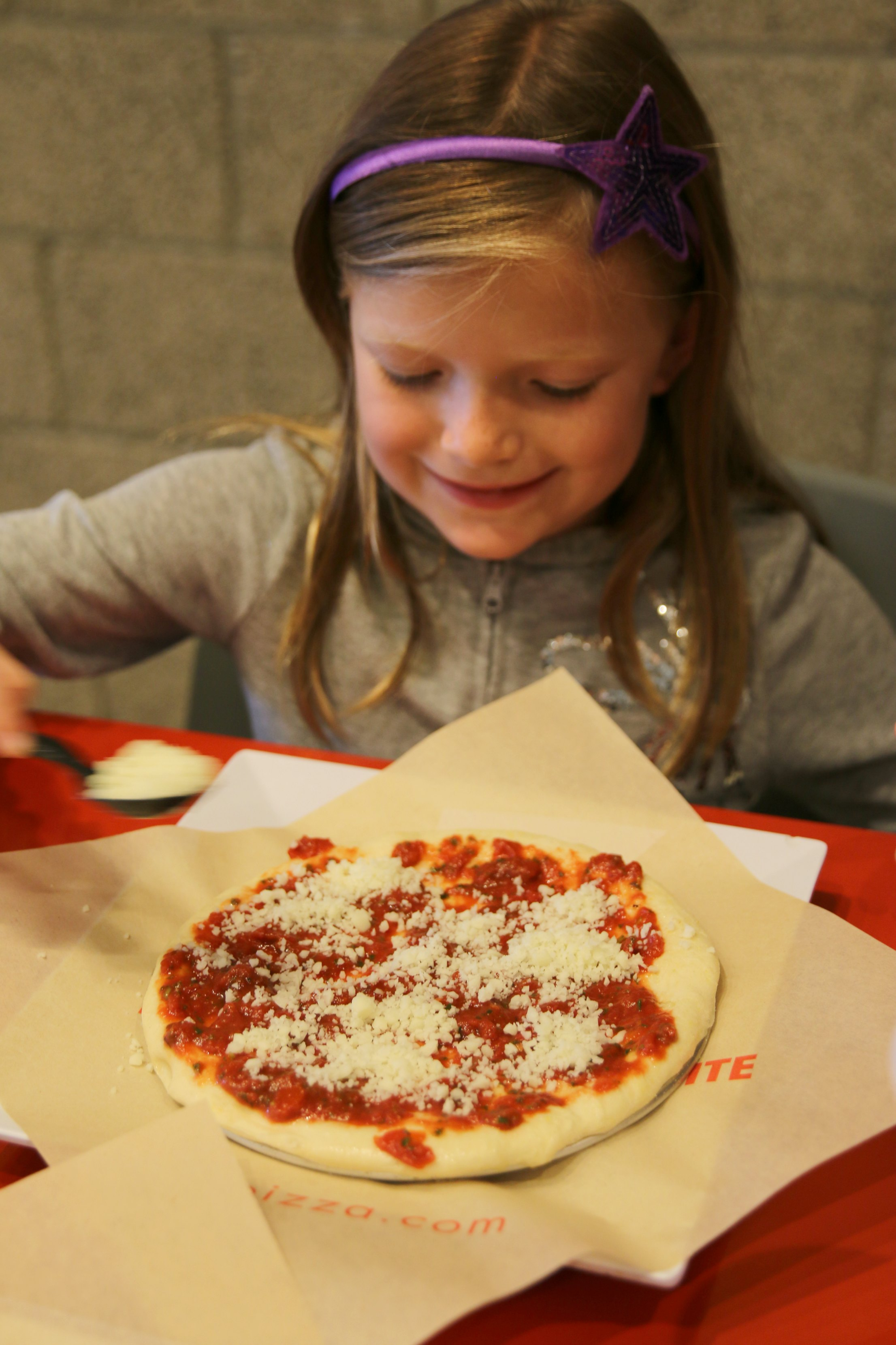 pizza dinner with kids