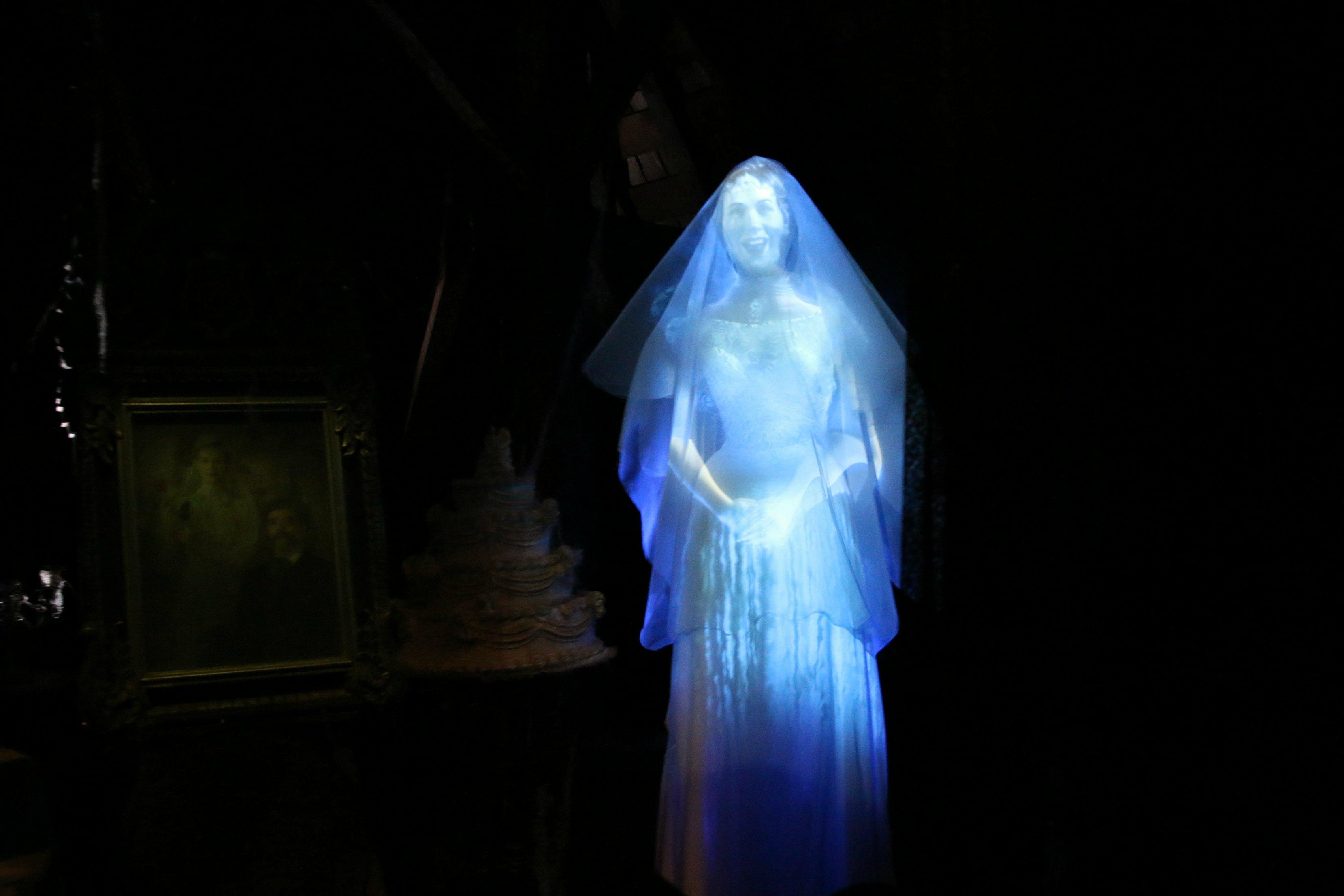Disneyland ghost