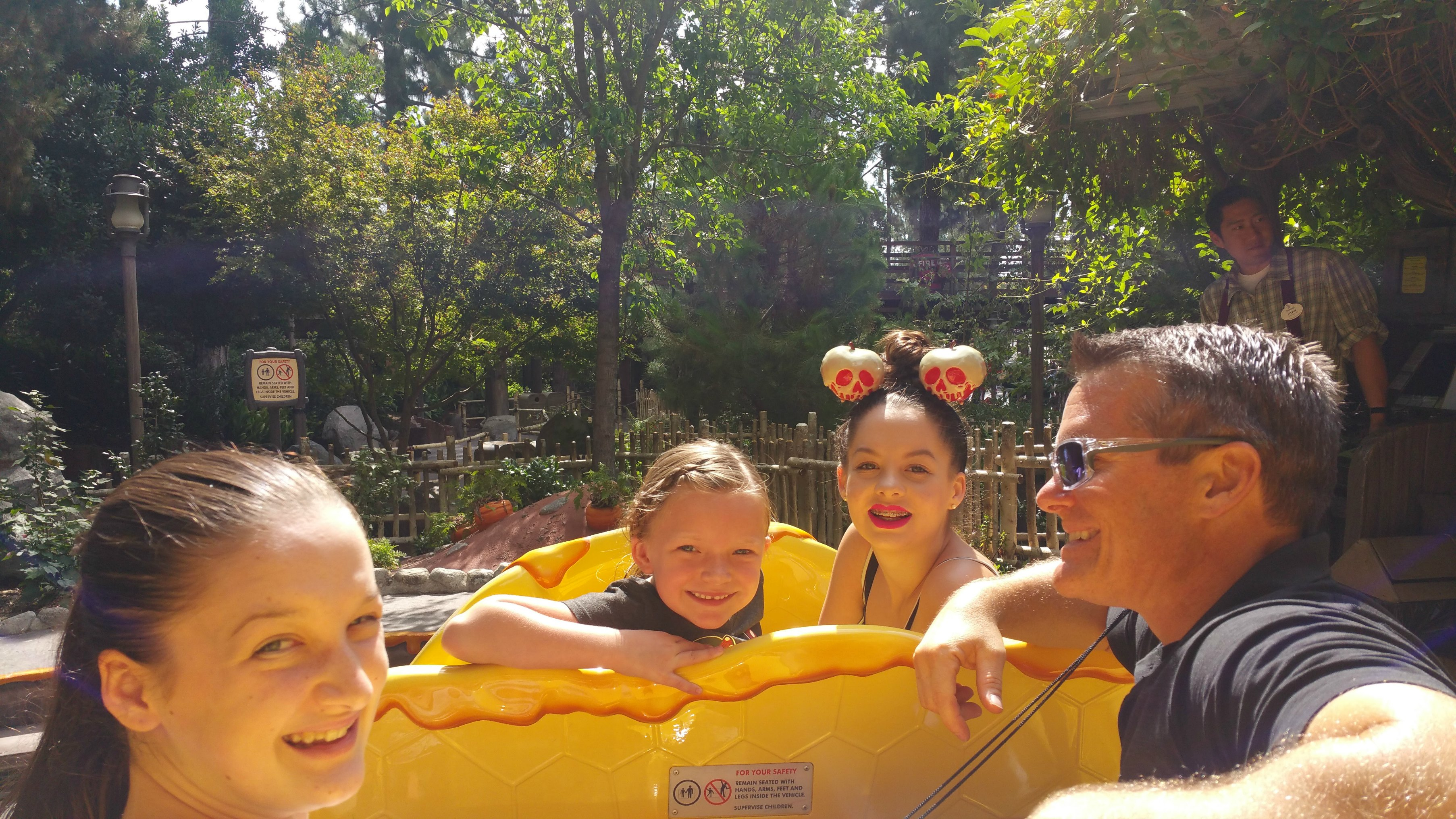 winnie the pooh ride disneyland