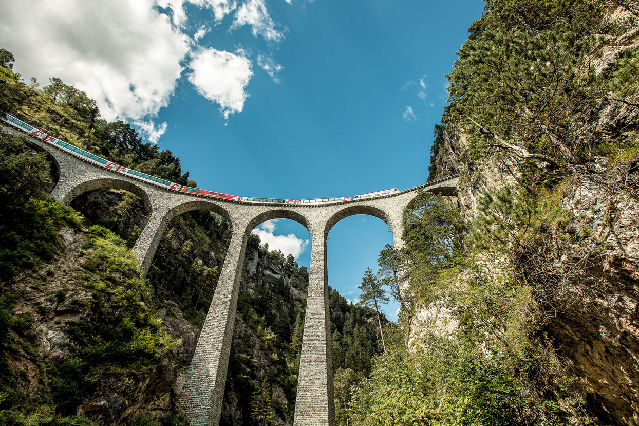 Landwasserviadukt Filisur, Glacier Express