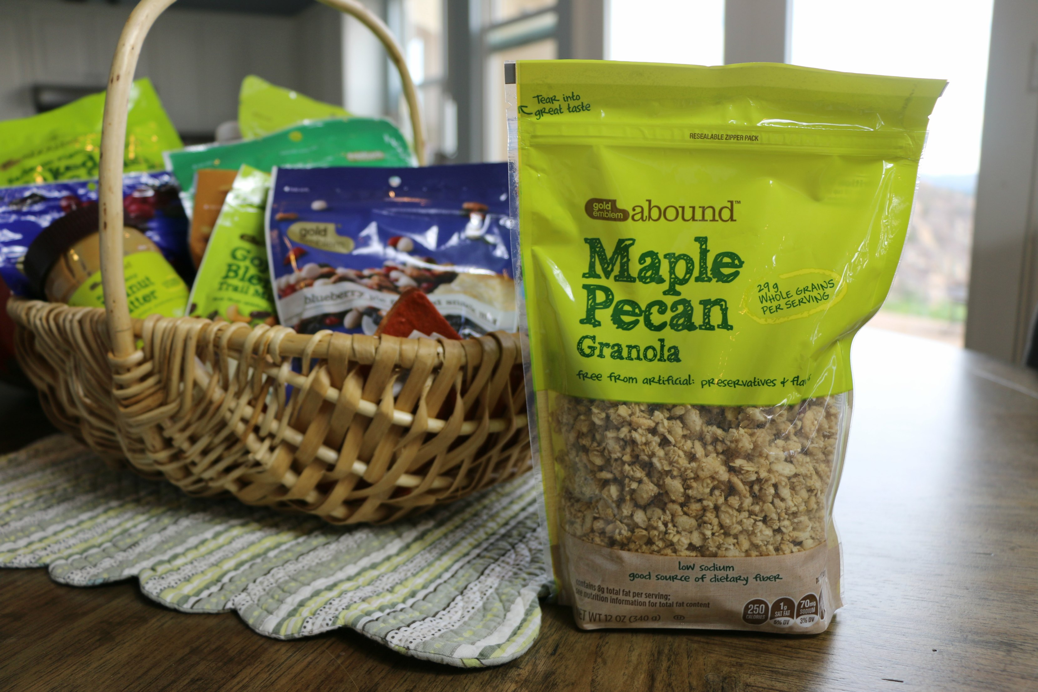 though the maple pecan granola was another great flavor of the ...