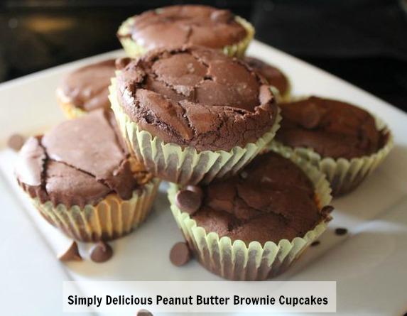 peanutbutterbrowniecupcakes