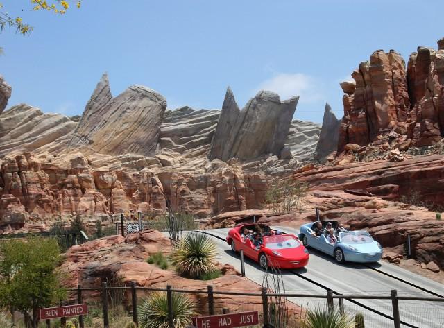cars land Disney