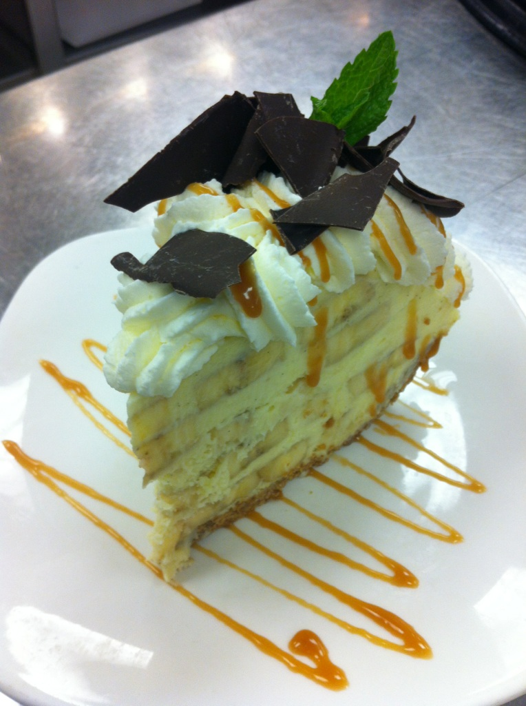 Emeril's banana cream pie