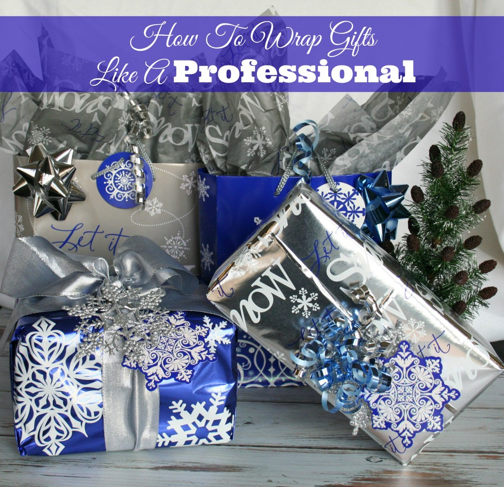 How To Wrap Gifts #HappyAllTheWay, #shop, #cbias