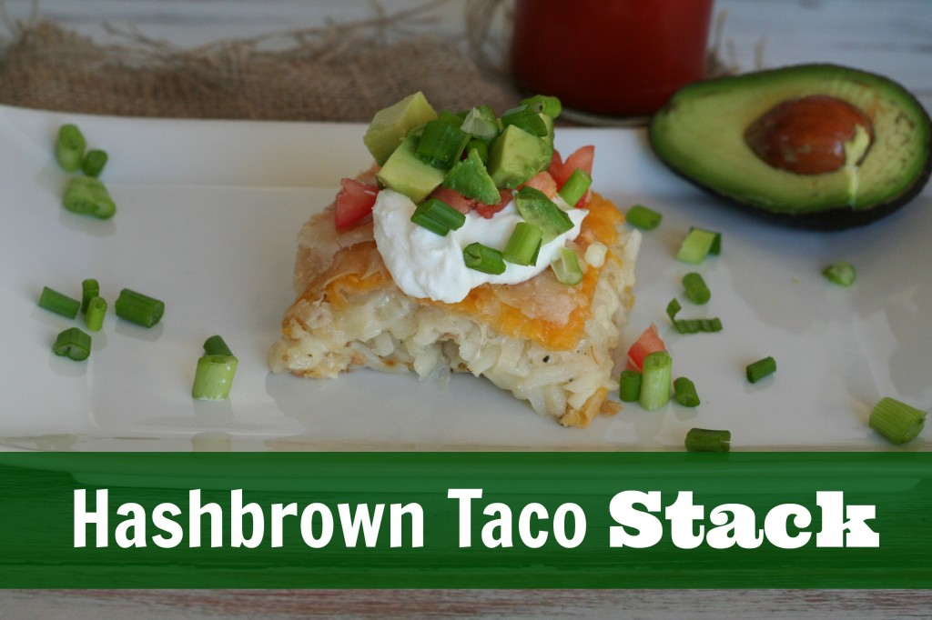Shredded Hashbrown Taco Stack #shop