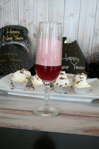 sparkling grape creamsicle mocktail #shop