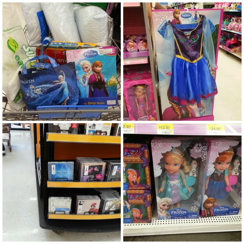 Disney FROZEN toys Walmart #shop