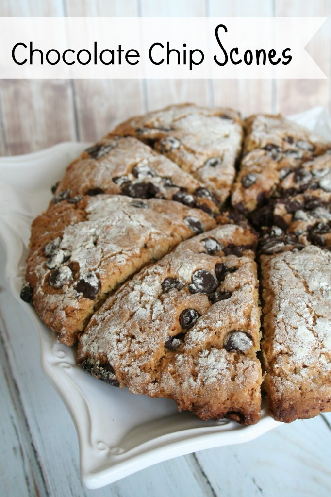 The Perfect Chocolate Chip Scones