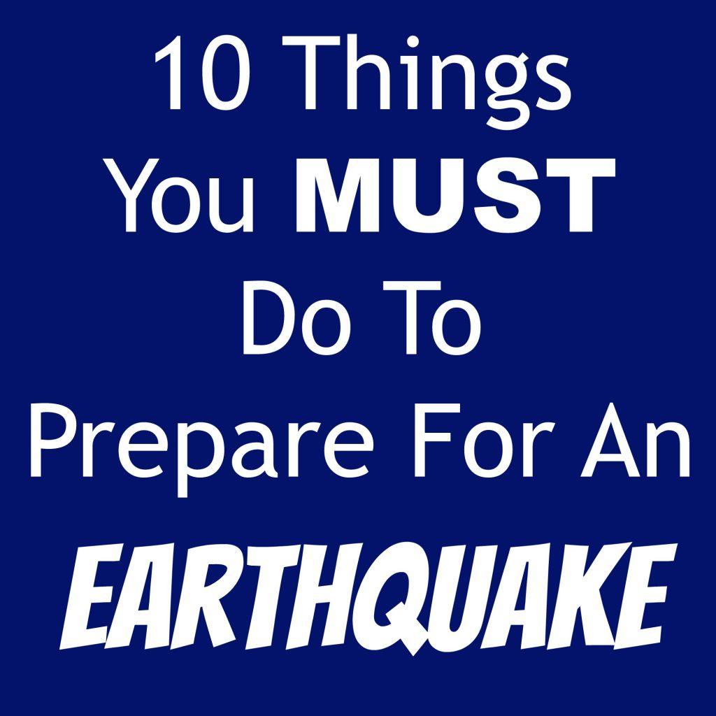 prepareforearthquake