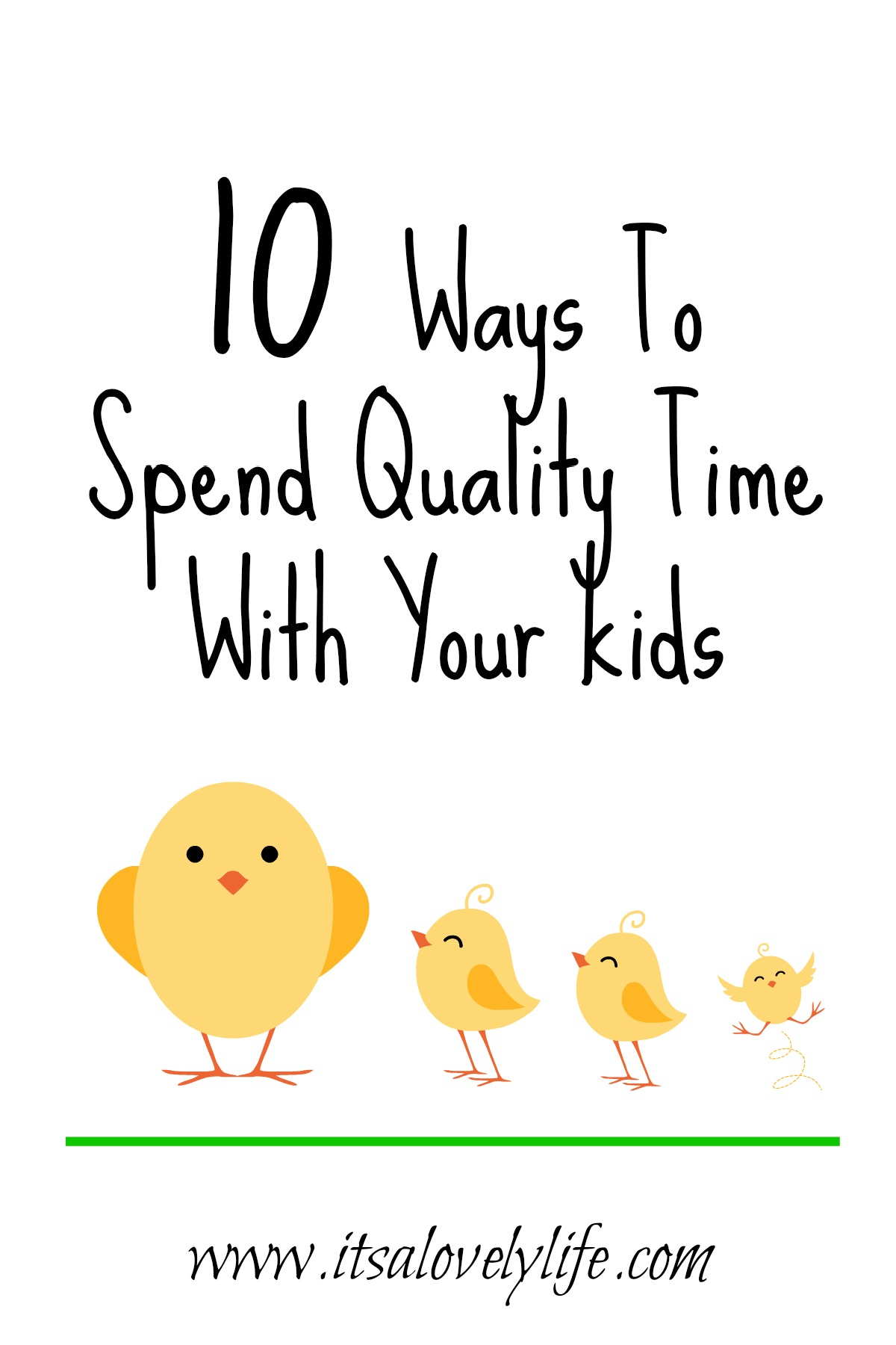 Ways to spend quality time with your kids