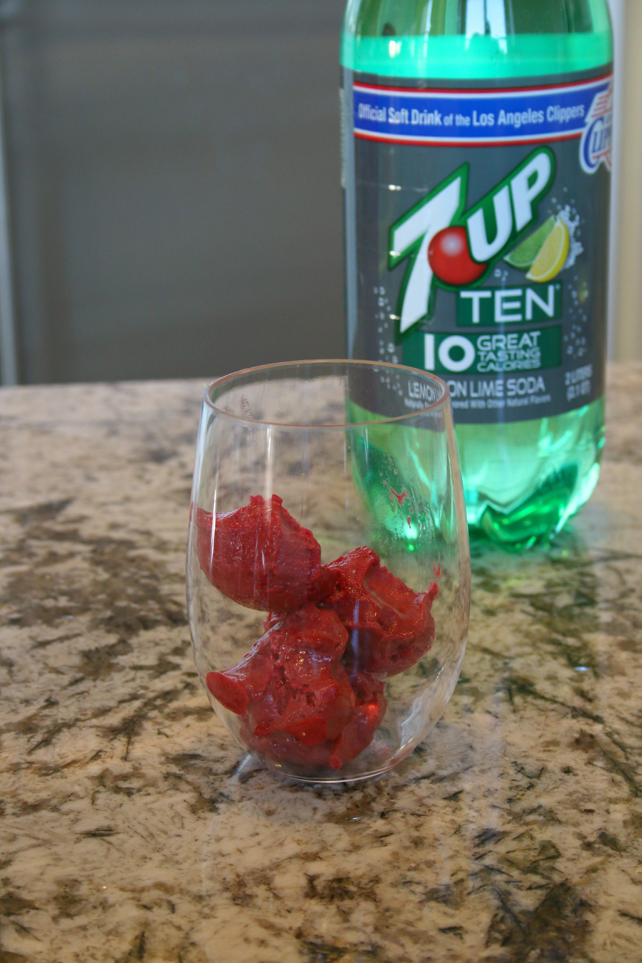 7up sorbet punch ad