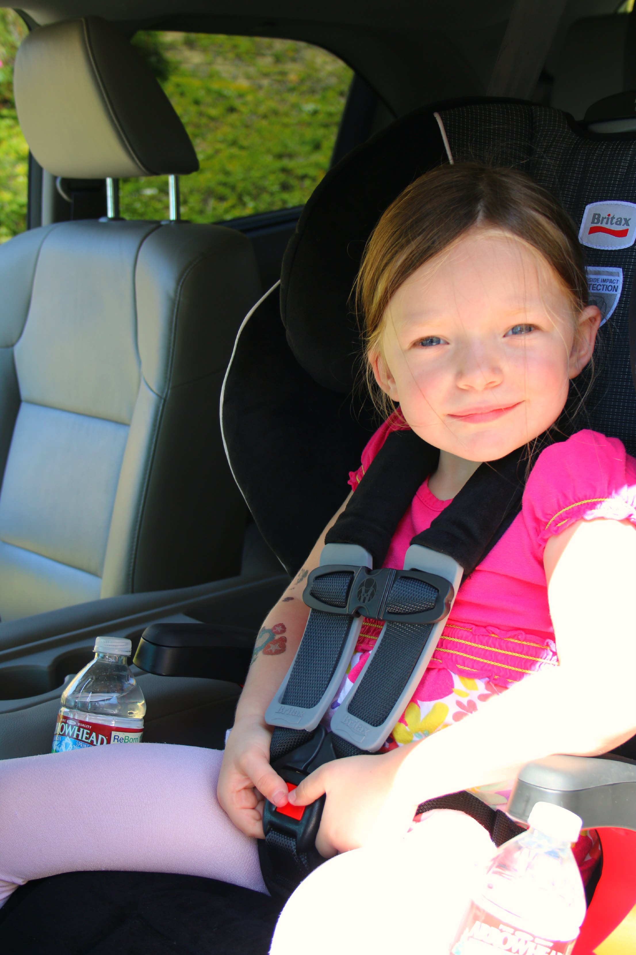 Our Favorite Car Seat Britax Frontier 90 Booster Full REVIEW