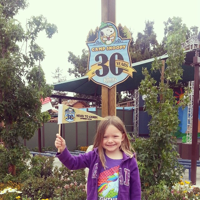 Celebrating 30 years of Camp Snoopy!
