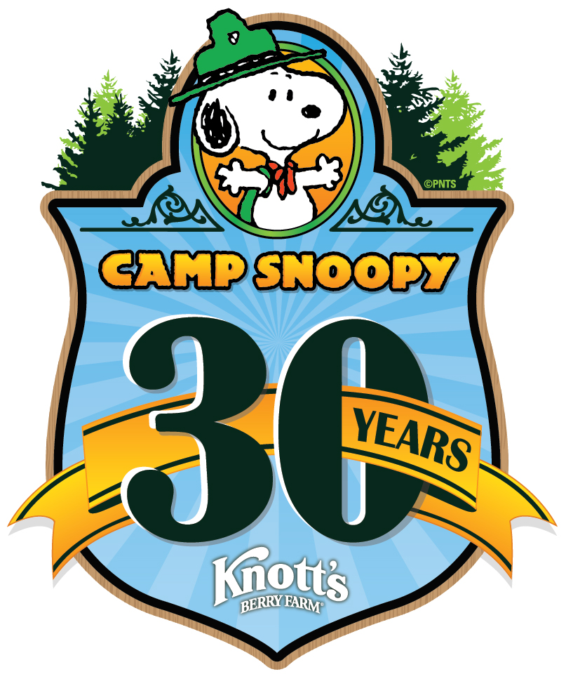 Camp Snoopy 30th Anniversary Logo