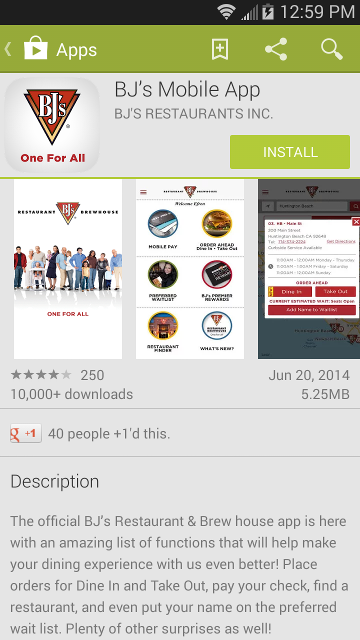 No More Meltdowns With BJ\'s Restaurant Dine in Order Ahead App ...