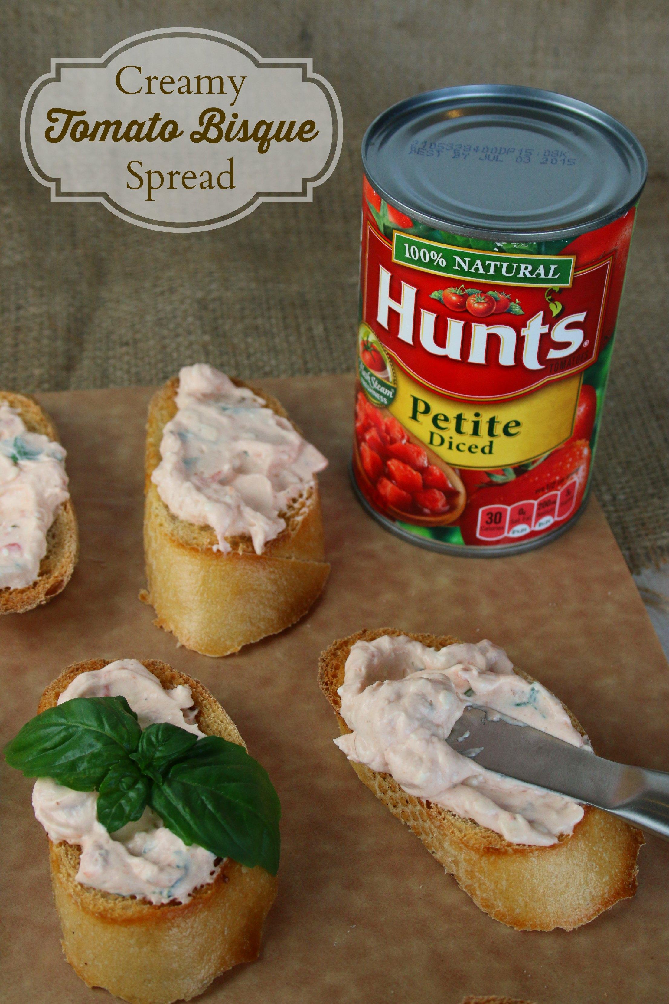 creamy tomato bisque spread