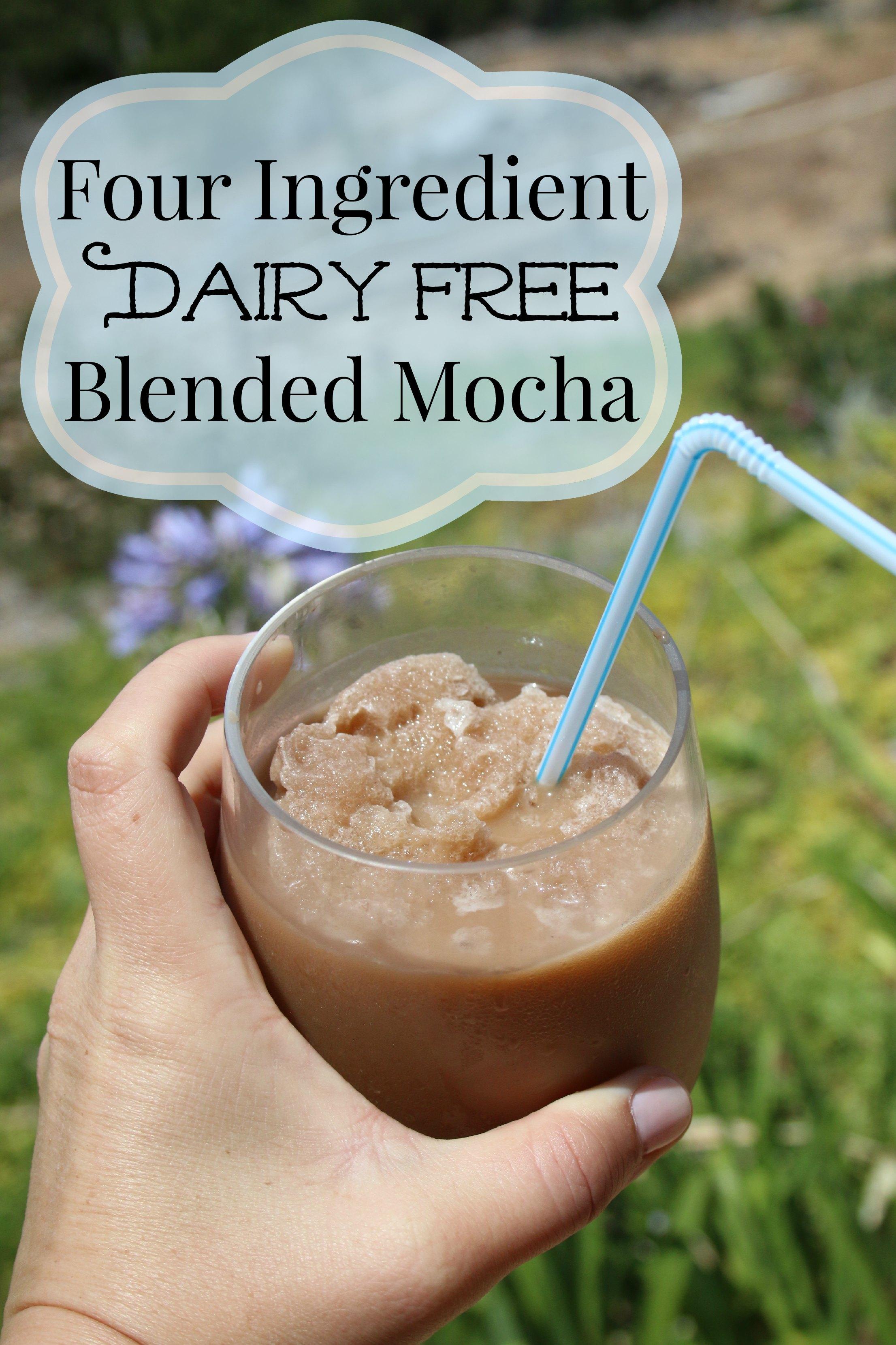 dairy free mocha