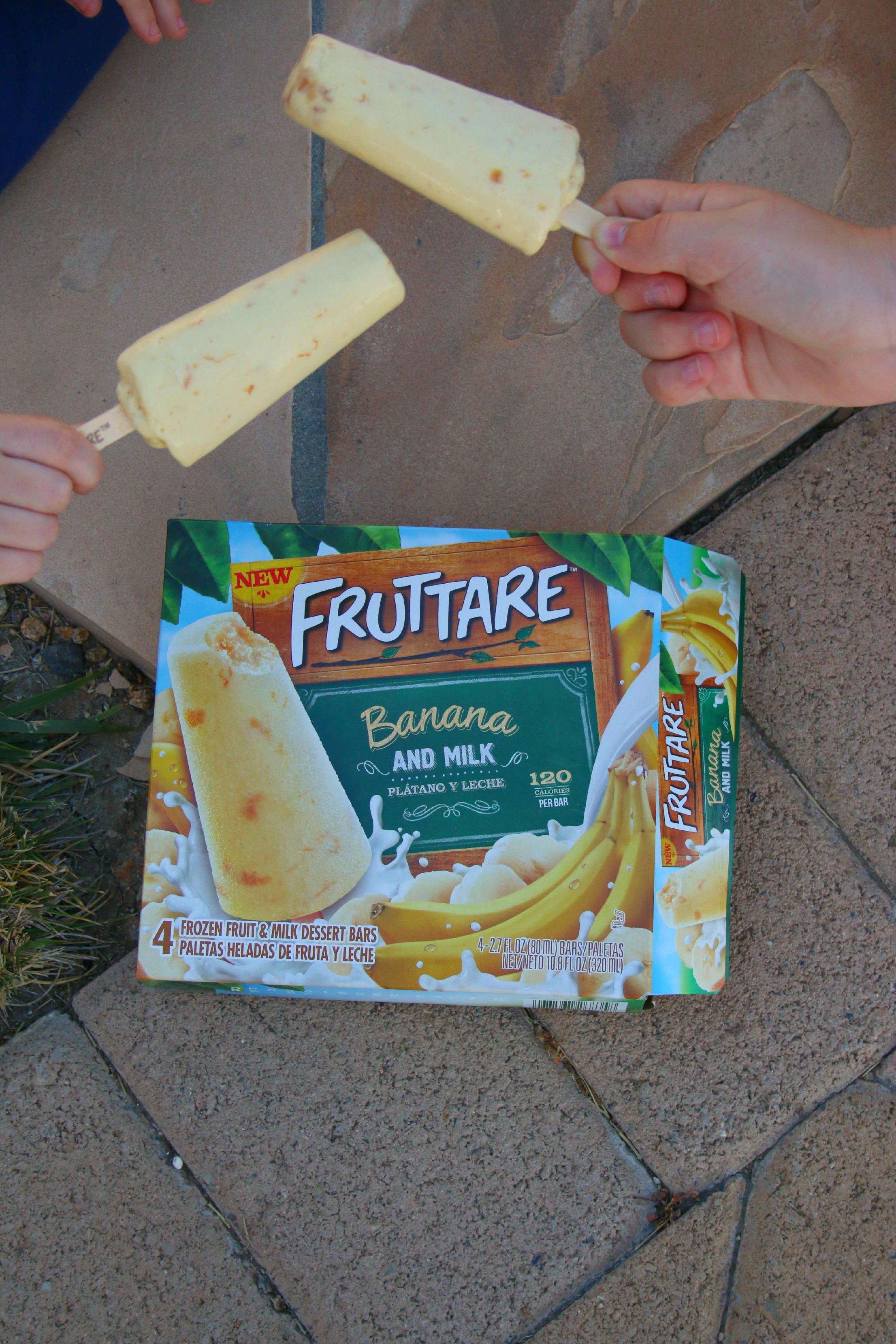 frozen fruit and milk bars