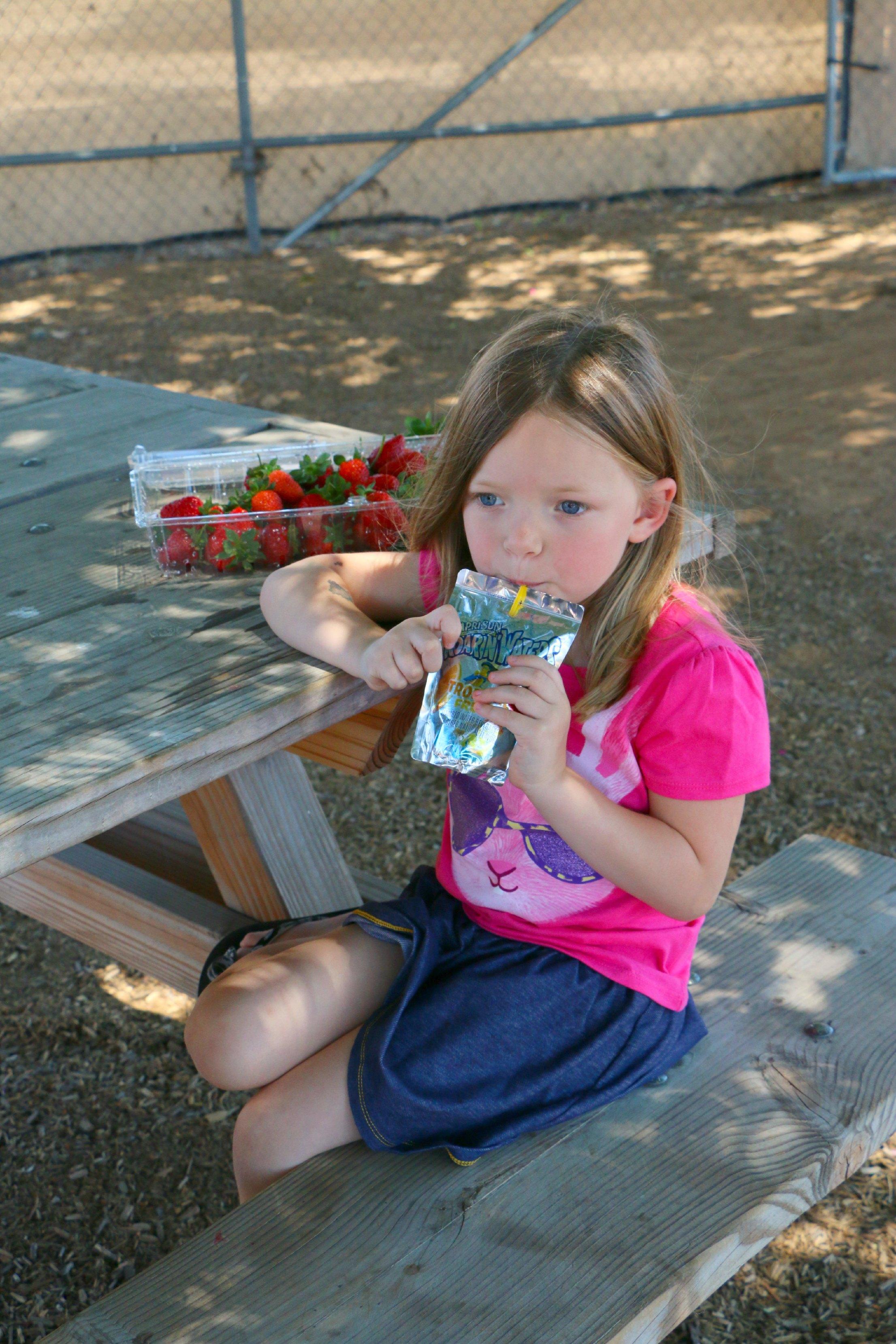 refreshing summer drink capri sun