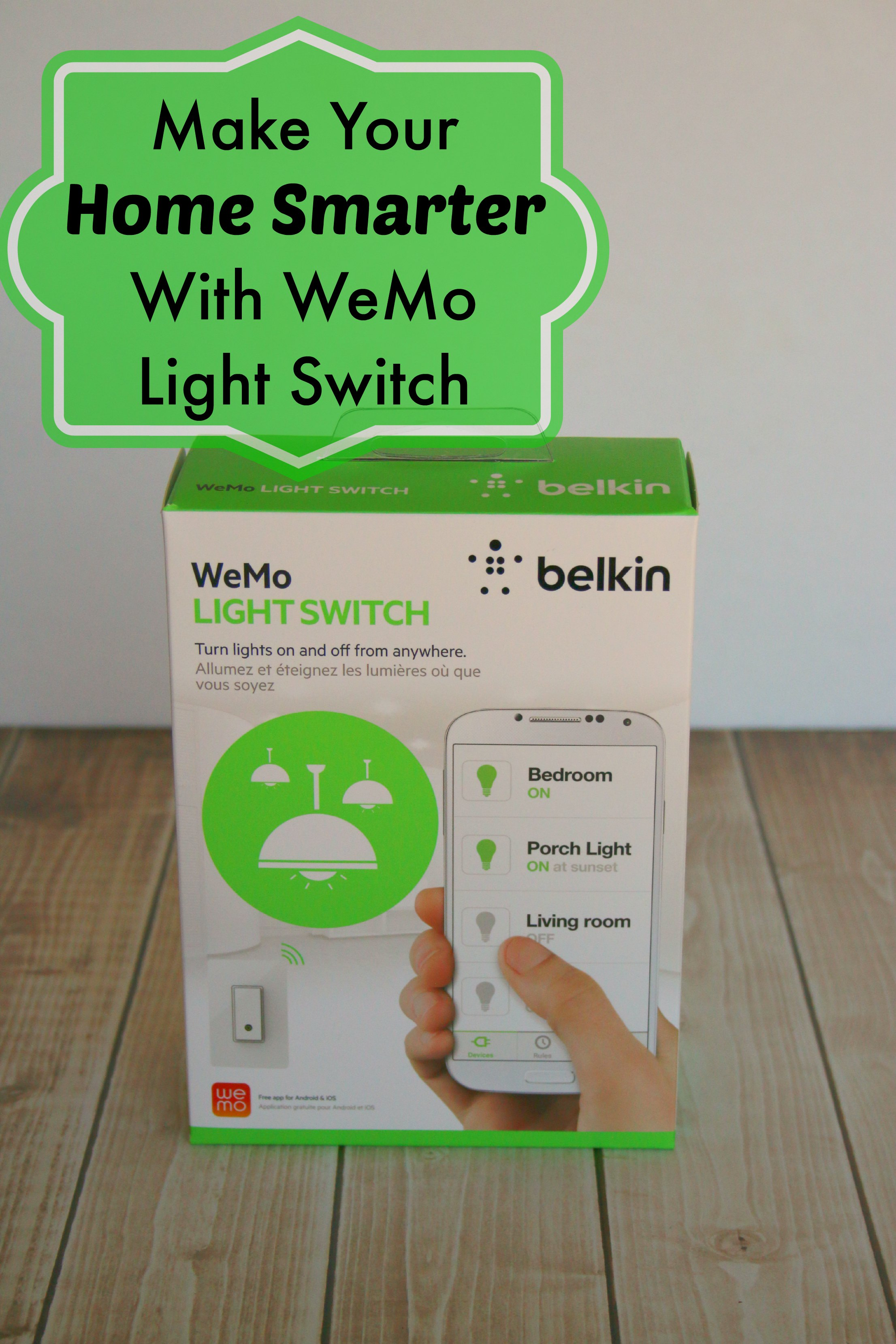 Smart House Find Belkin Wemo Light Switch Its A Lovely Life Wiring Diagram Review