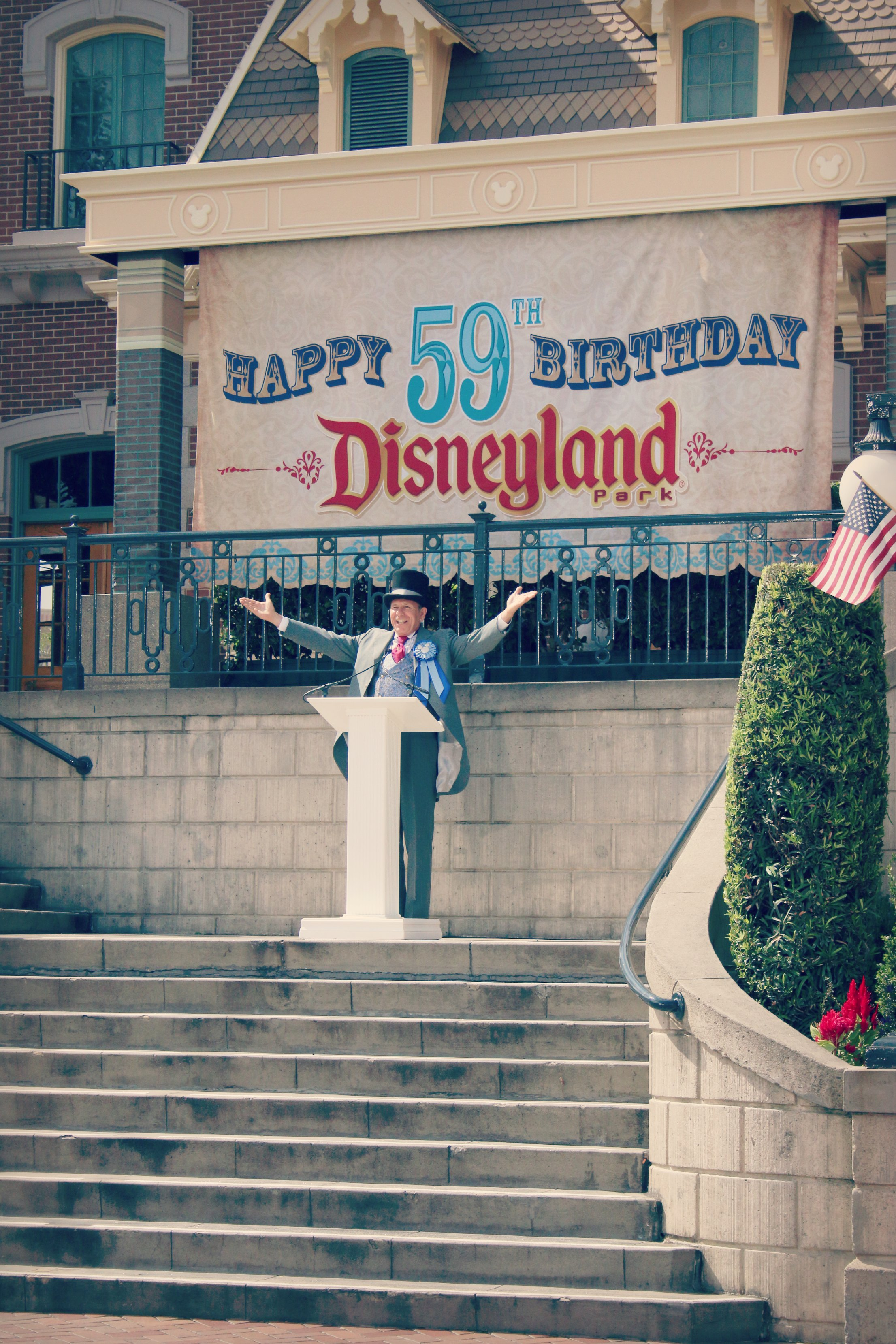 Disneyland 59th Birthday
