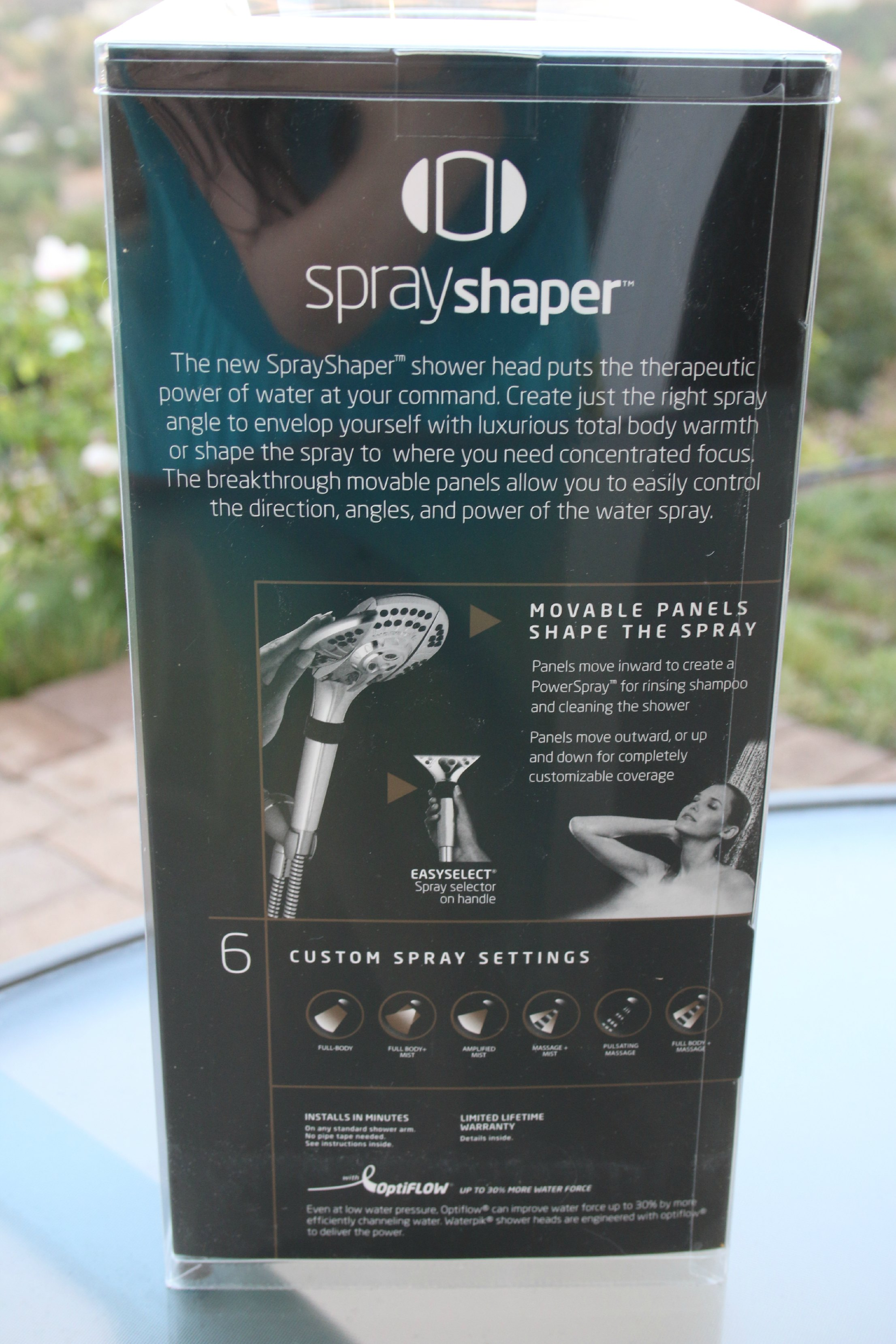 sprayshaper waterpik