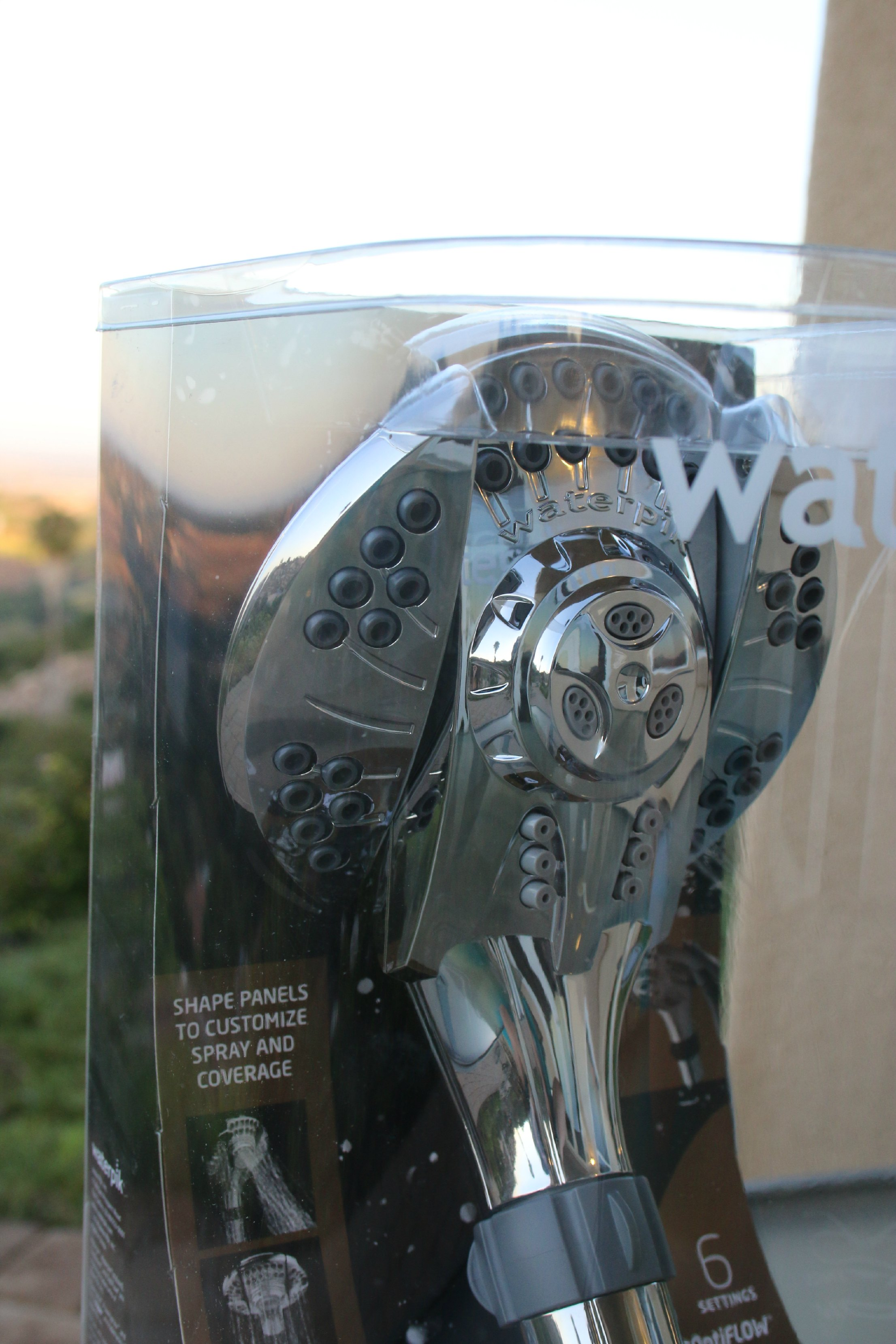 waterpik showerhead