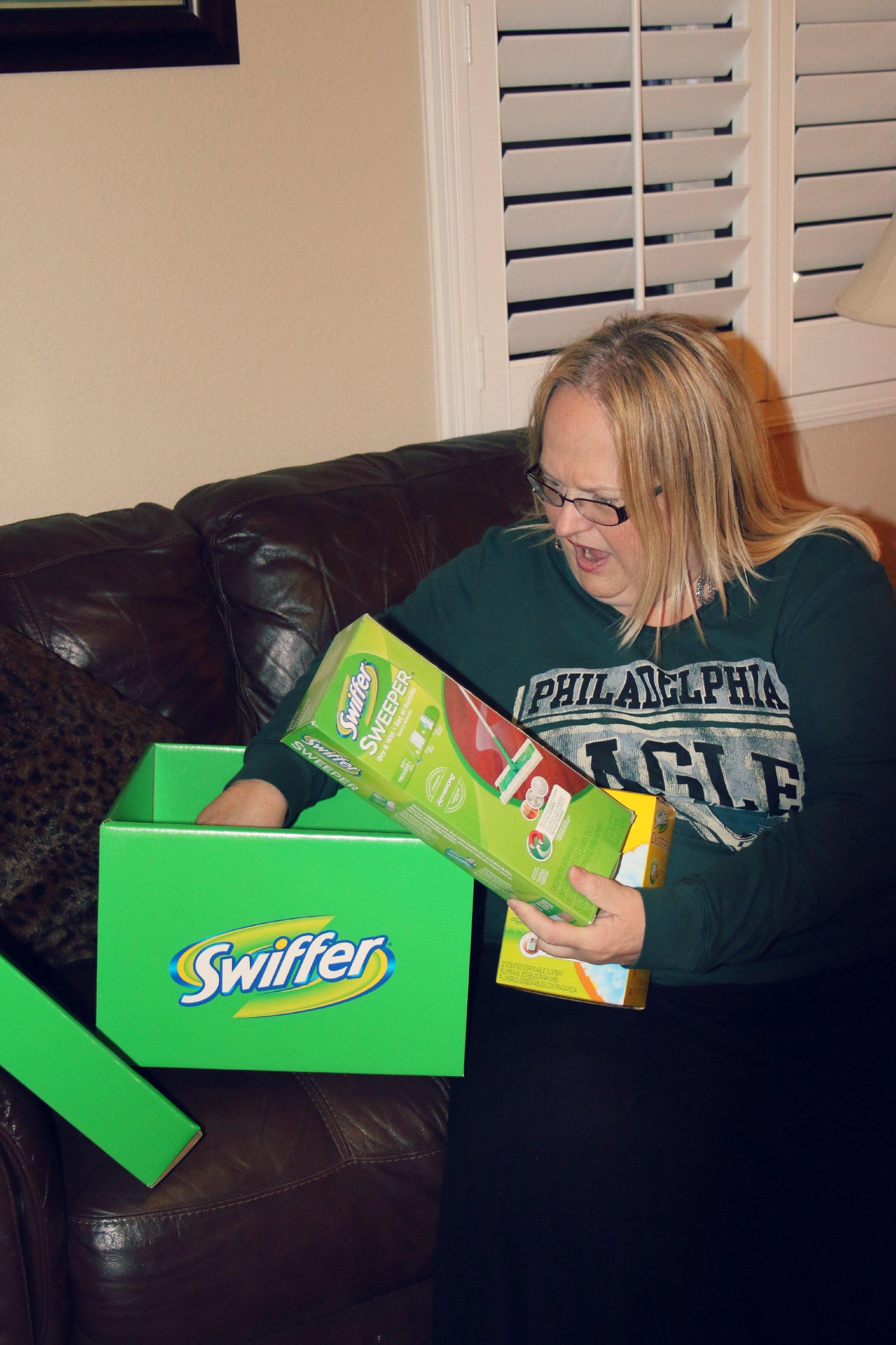 swiffer big green box