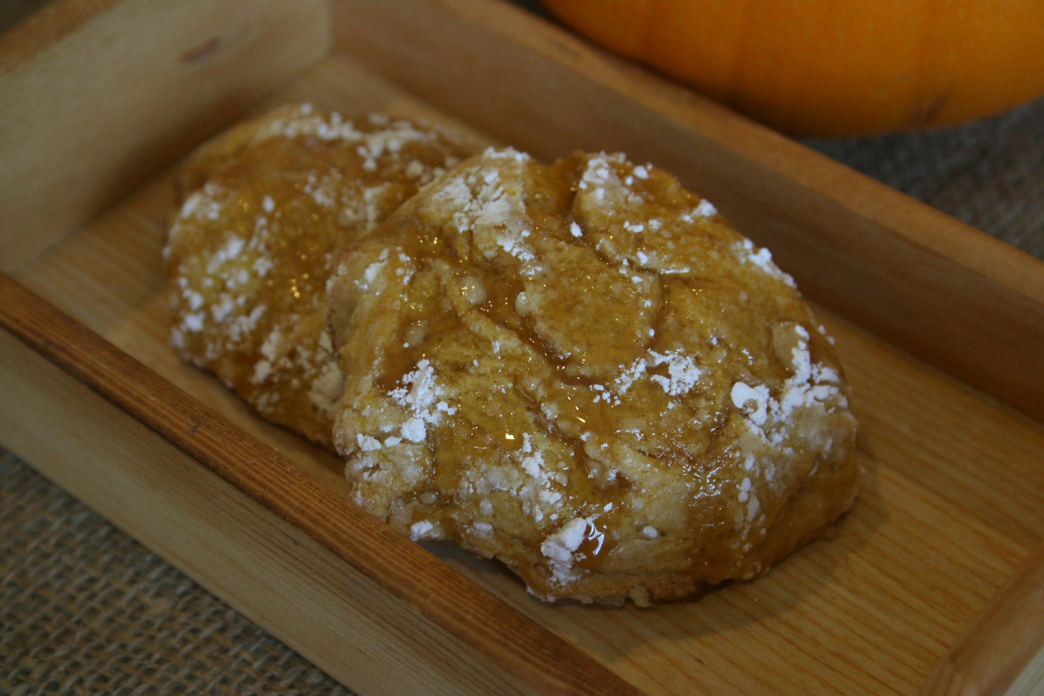 pumpkin cookies coconut oil
