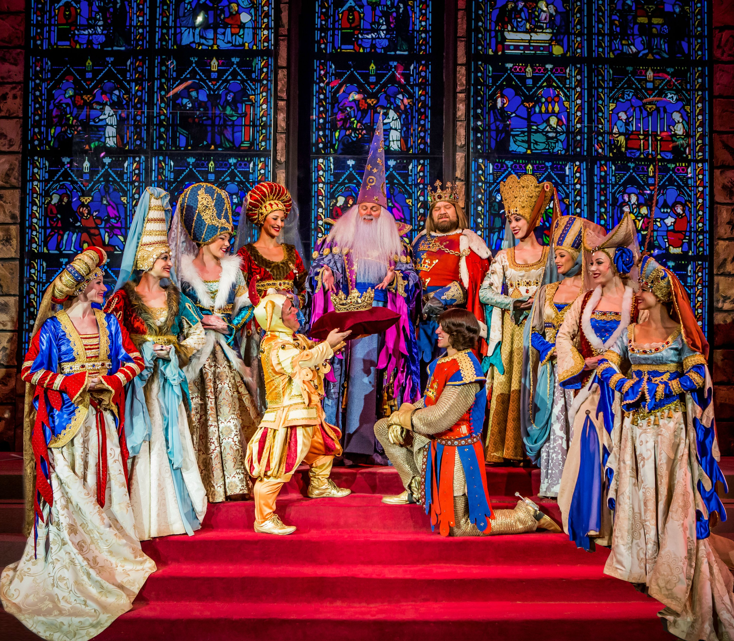 Excalibur - Tournament of Kings - Coronation - Photo by Erik Kabik (large file size)