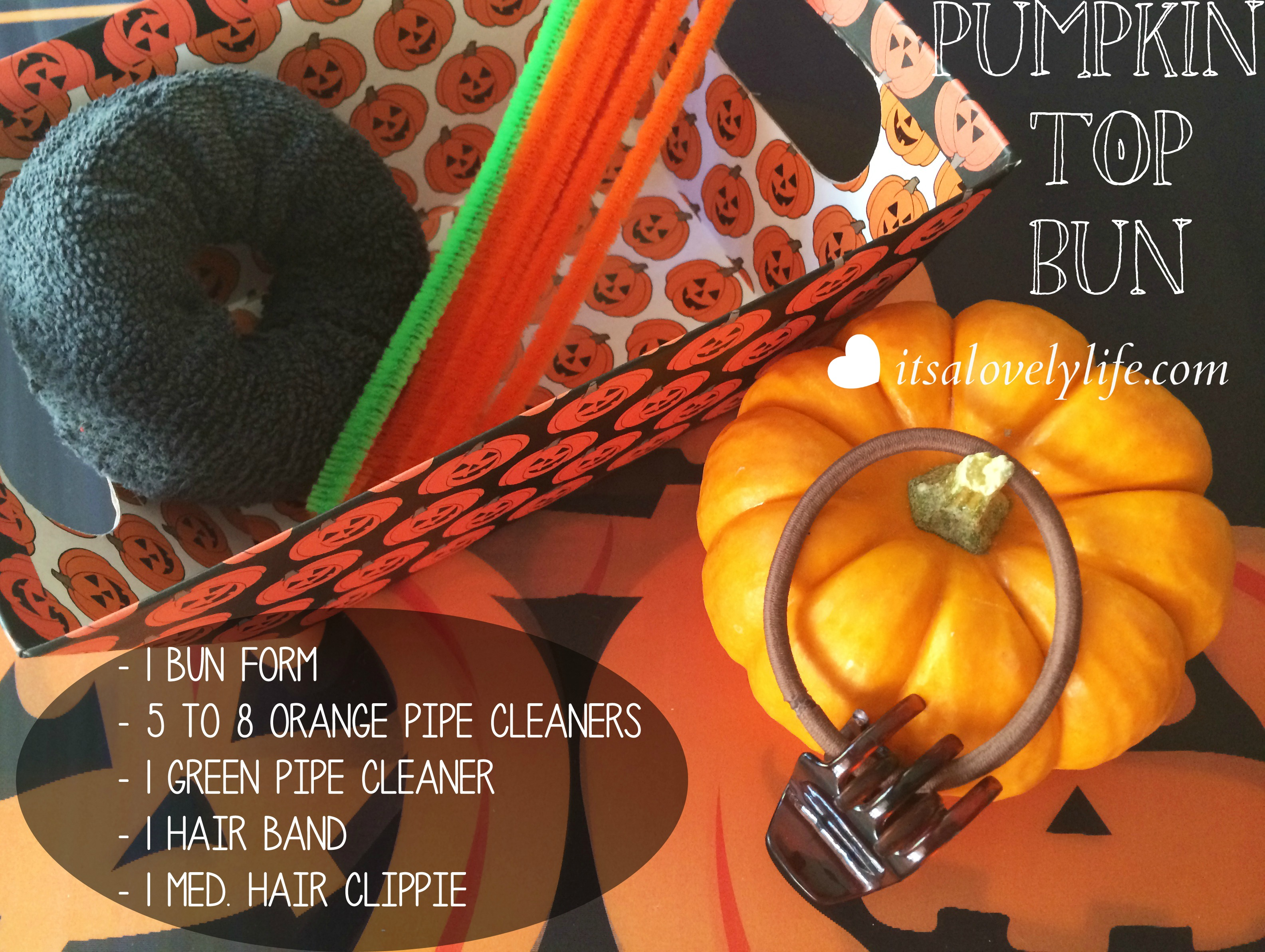 Pumpkin Top Bun10