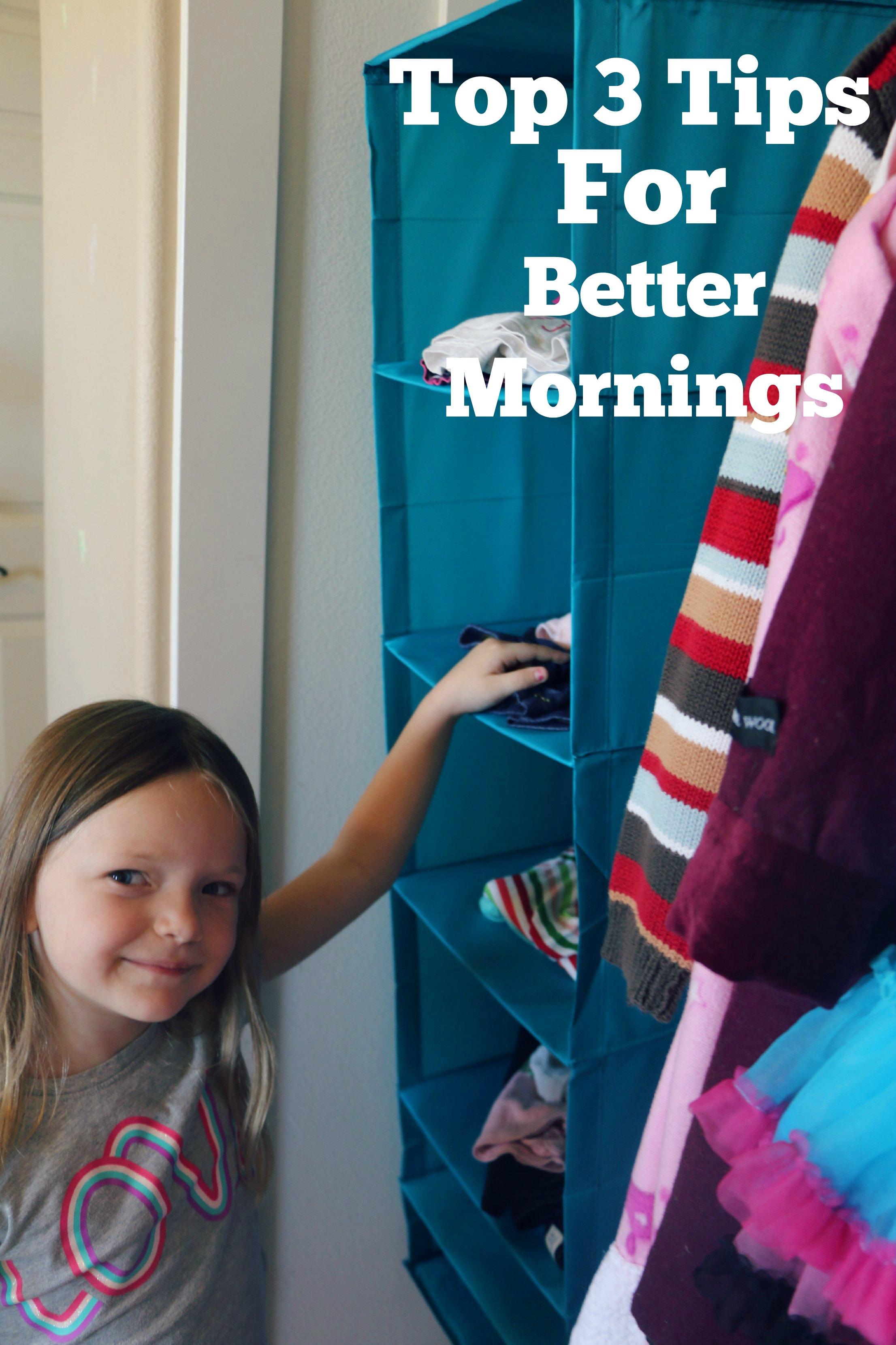 better morning tips