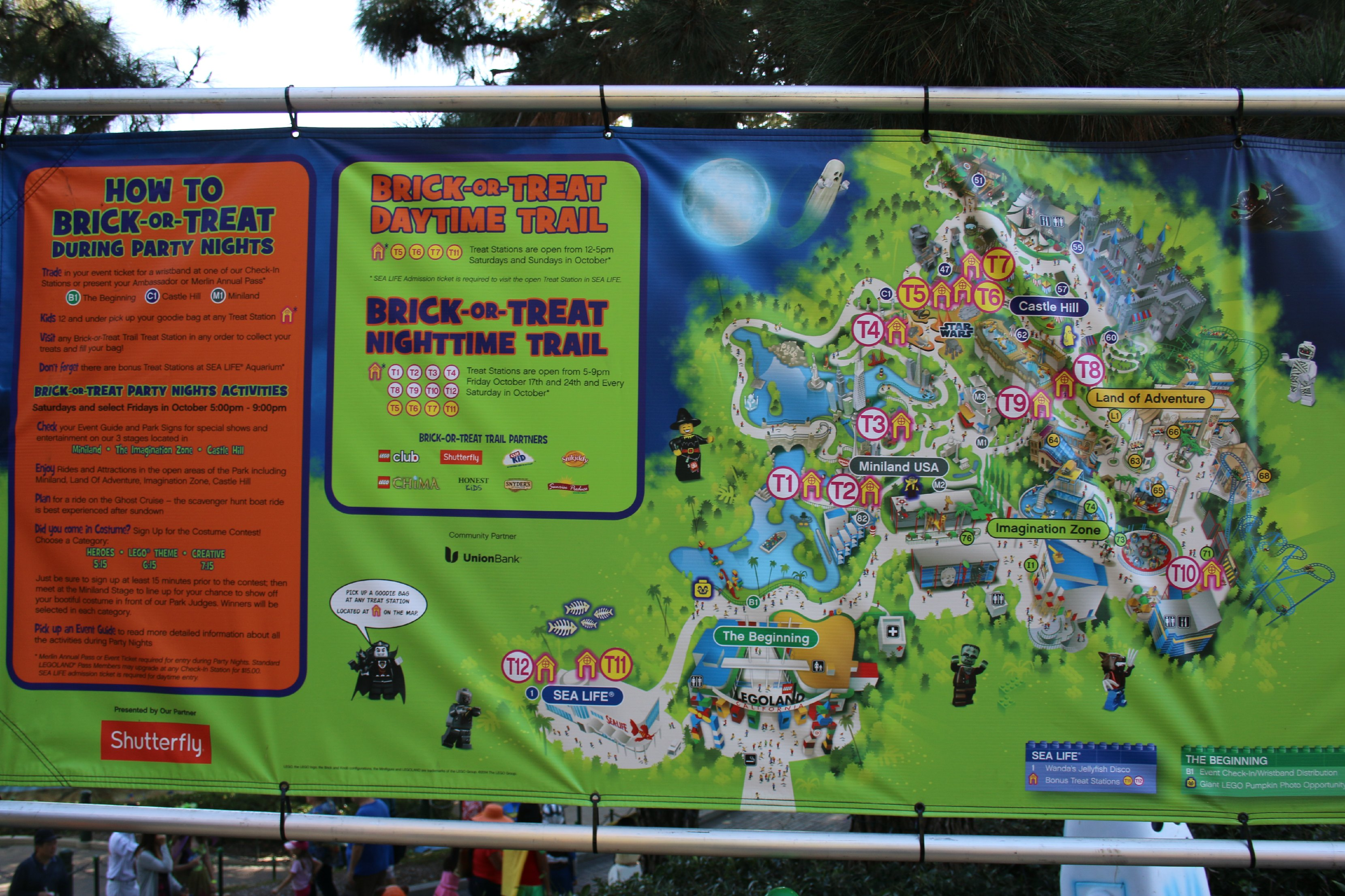 brick or treat map