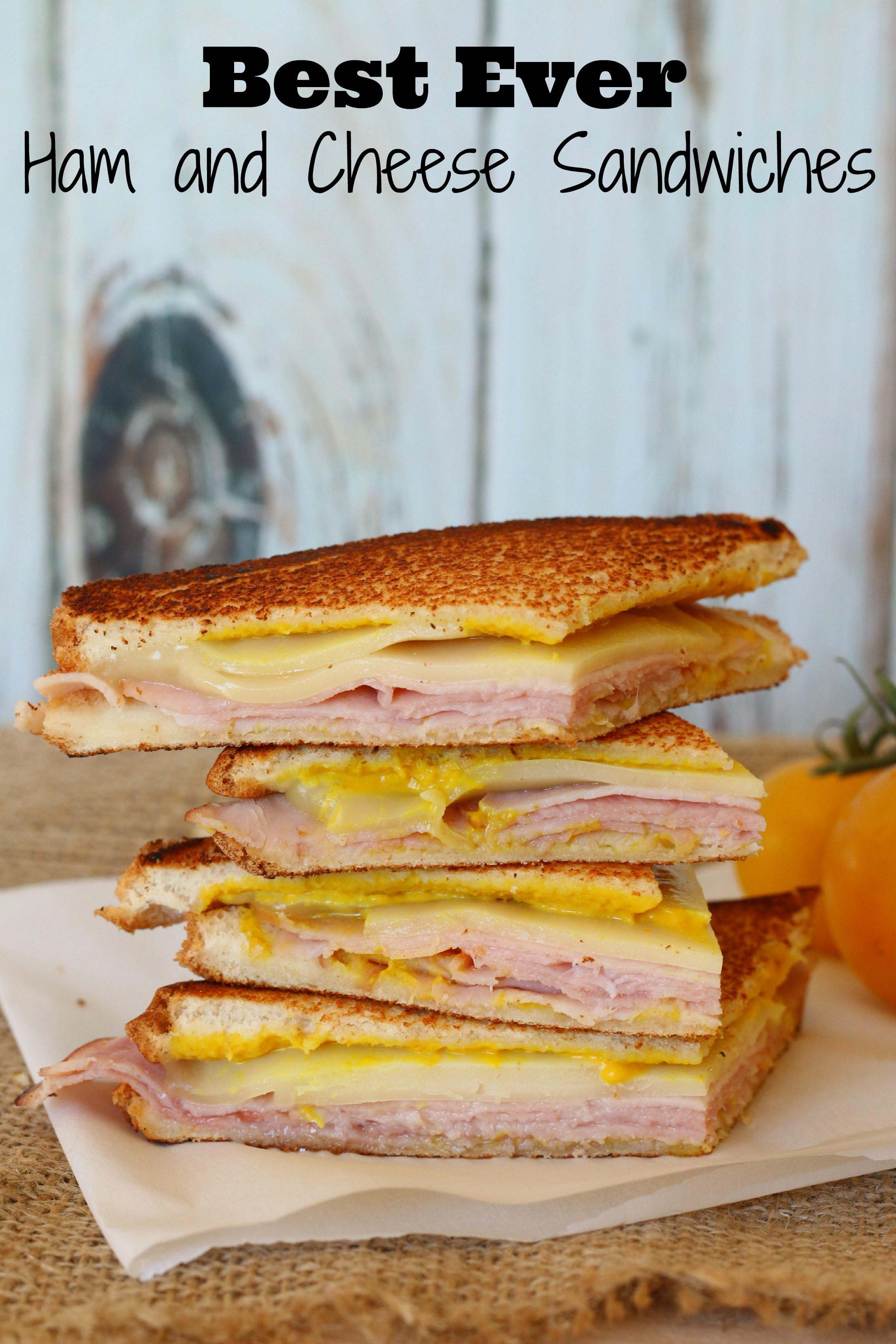 ham and grilled cheese