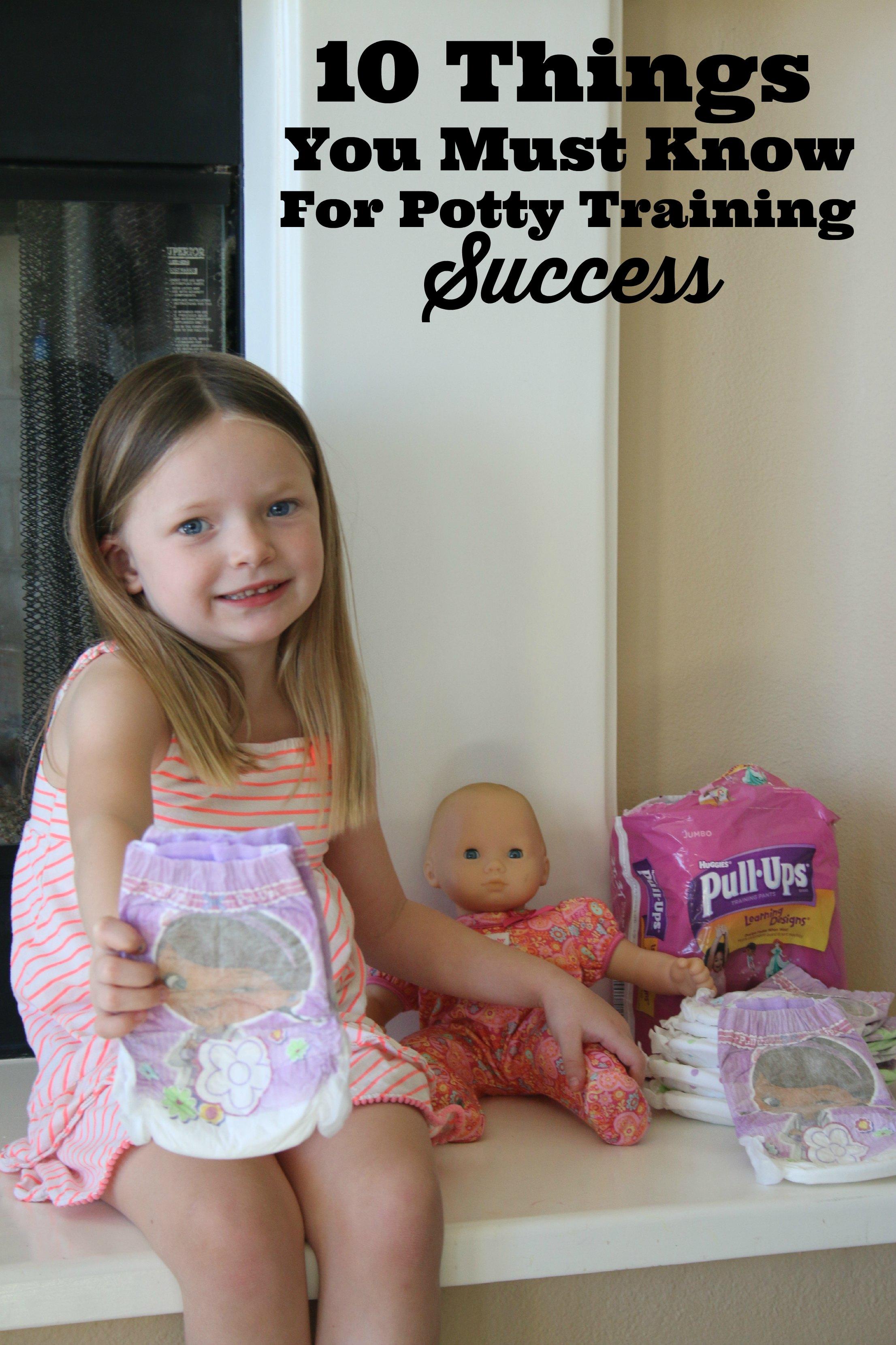 potty training success