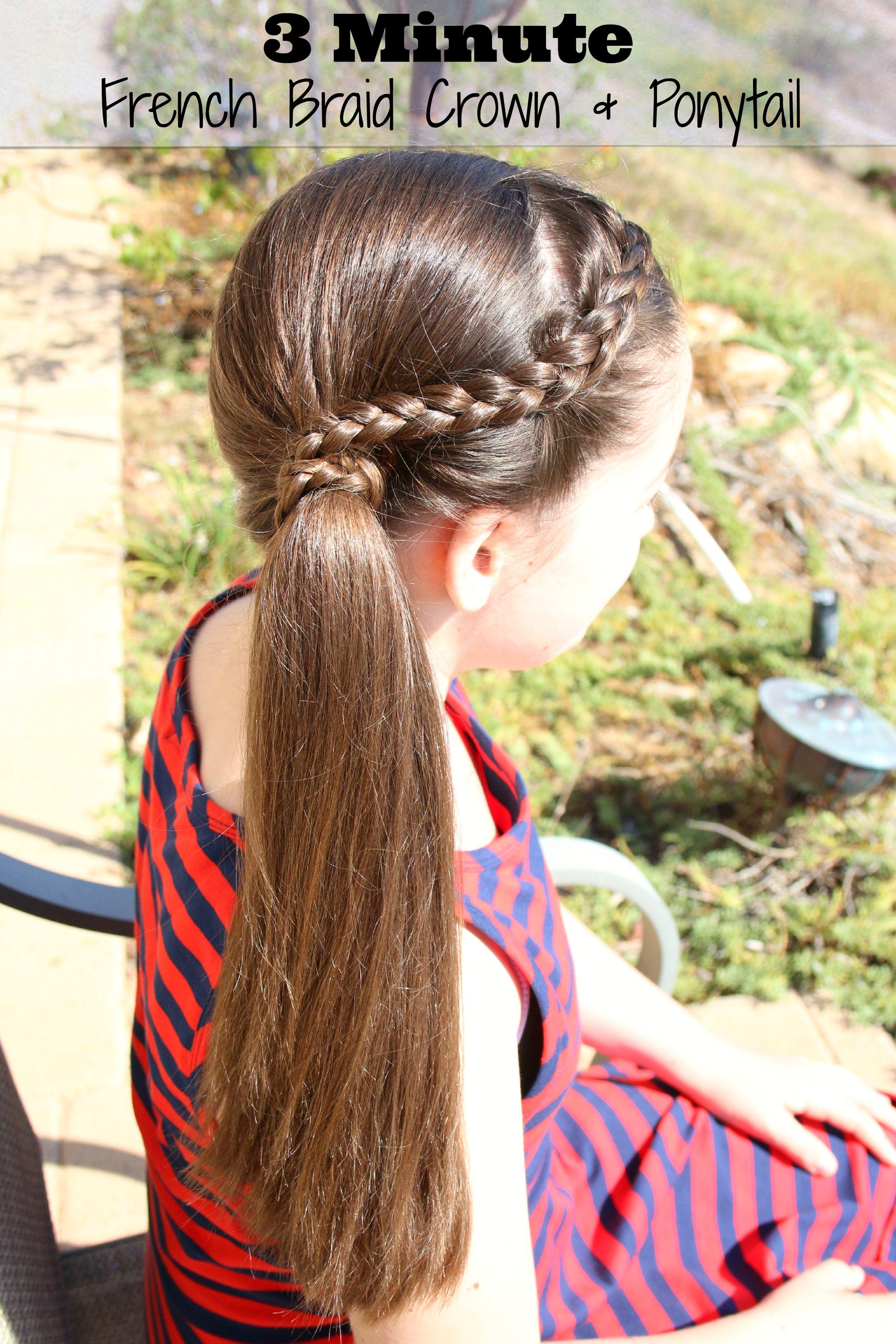 three minute hair do