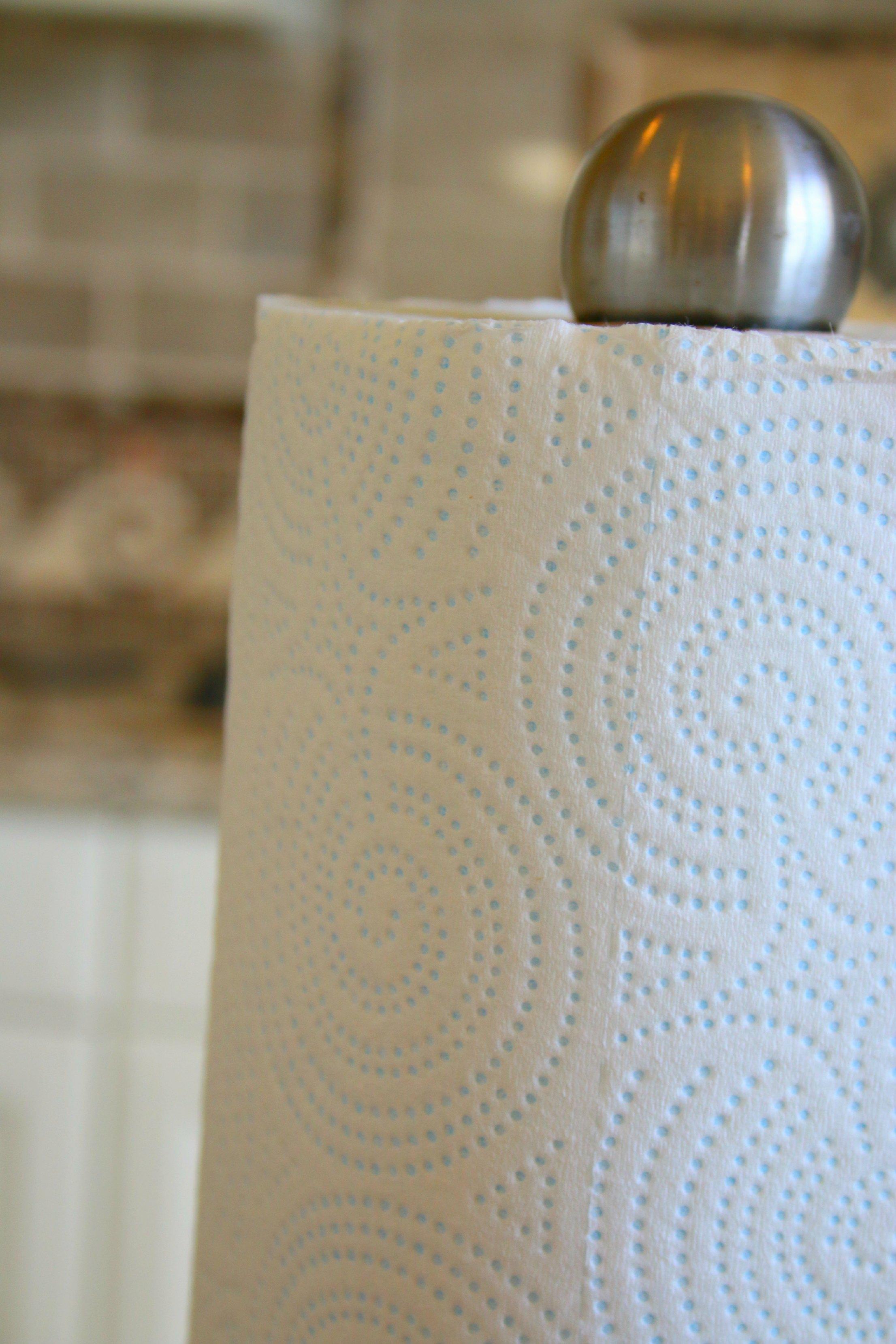 hint of color paper towels